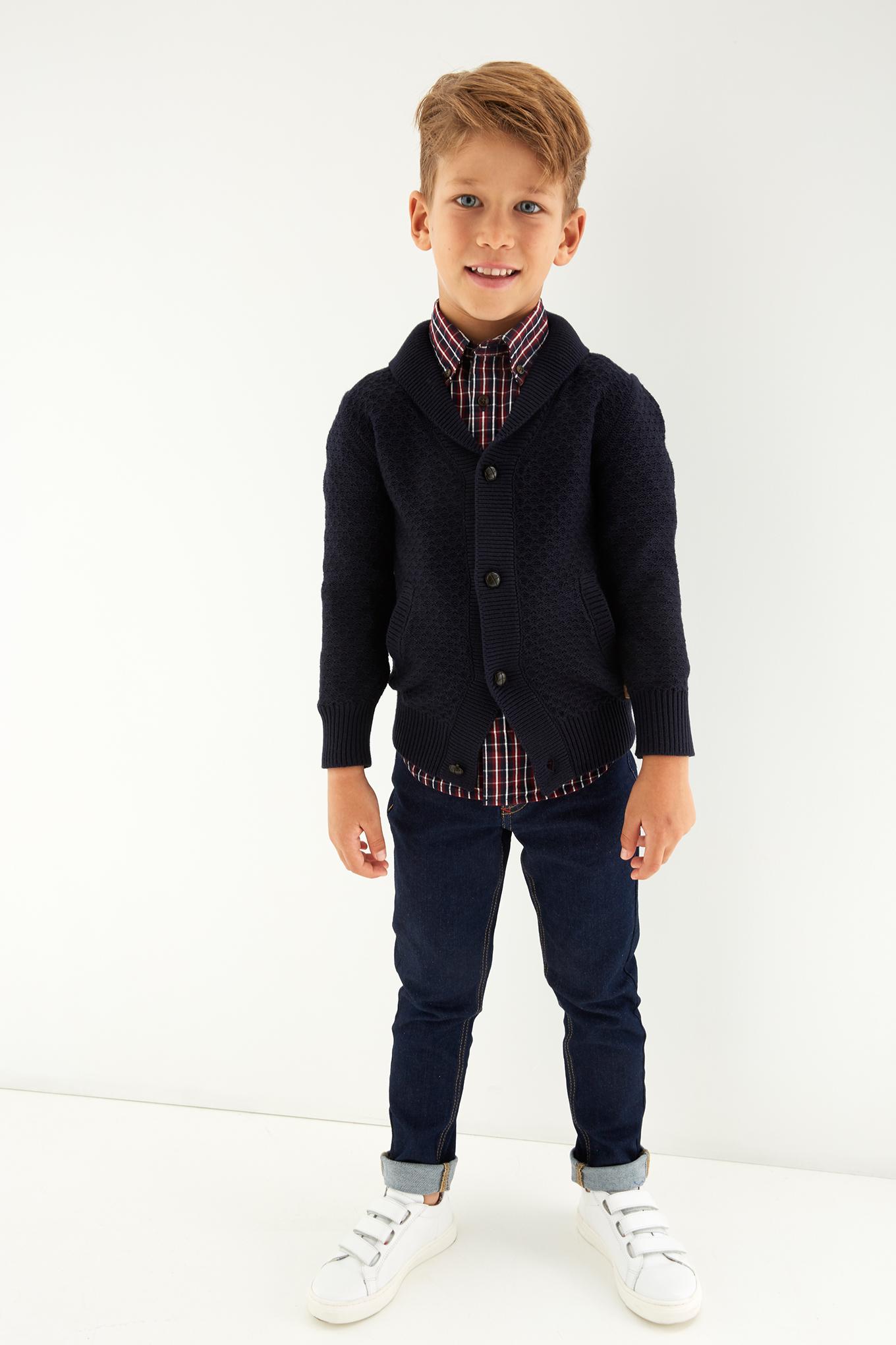 Sweater Dark Blue Sport Boy