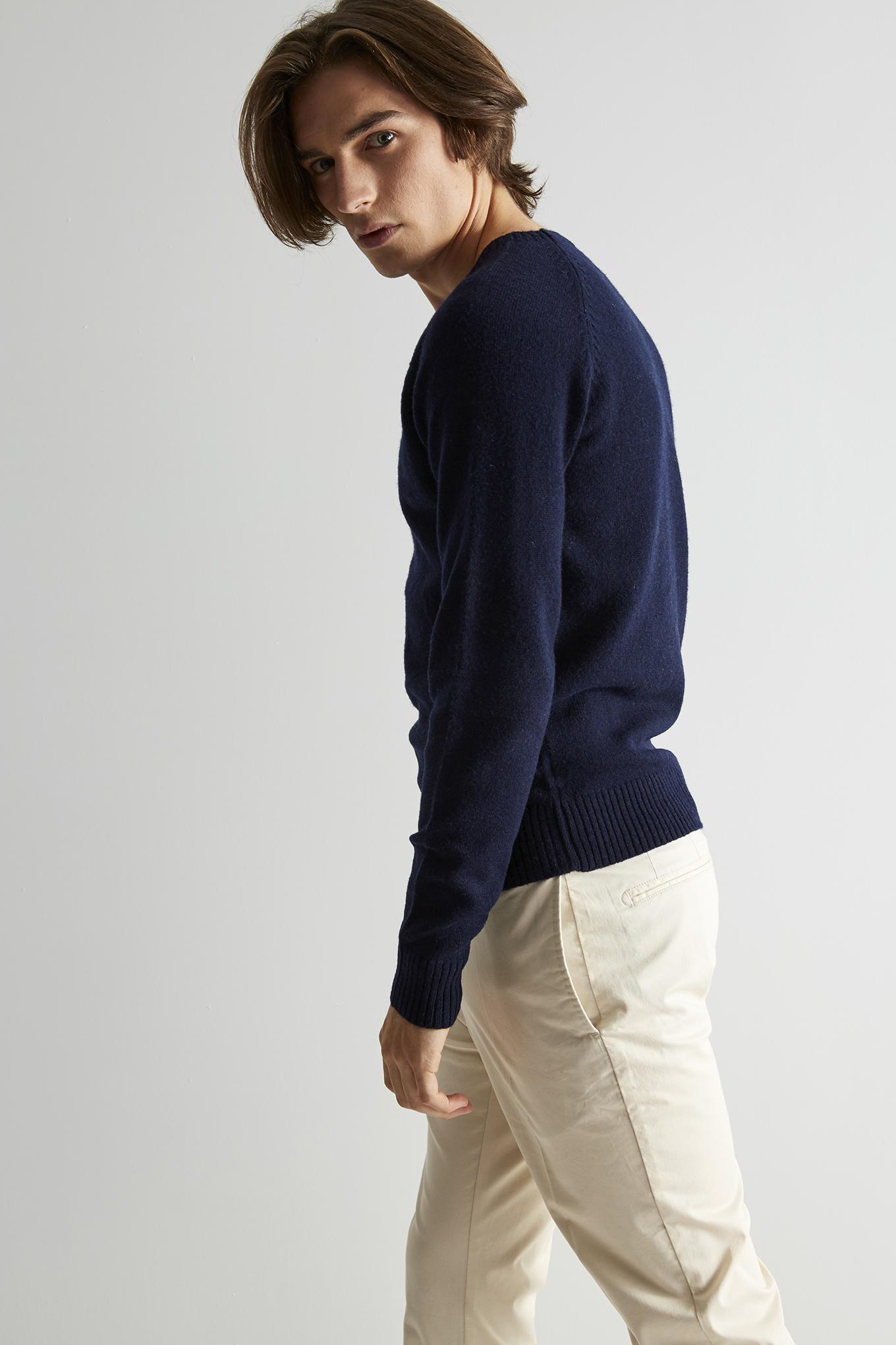 Sweater Dark Blue Classic Man