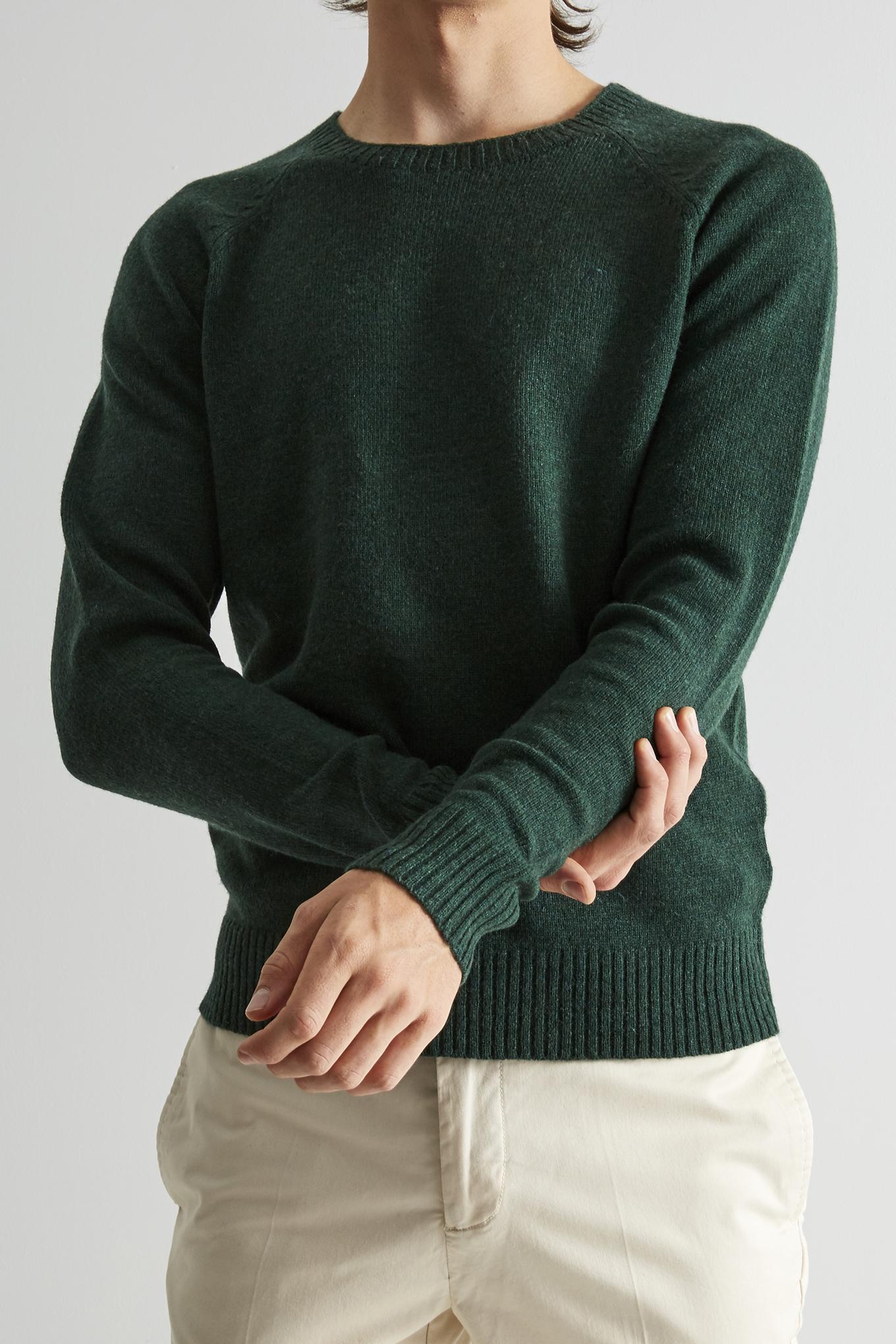 Sweater Dark Green Classic Man