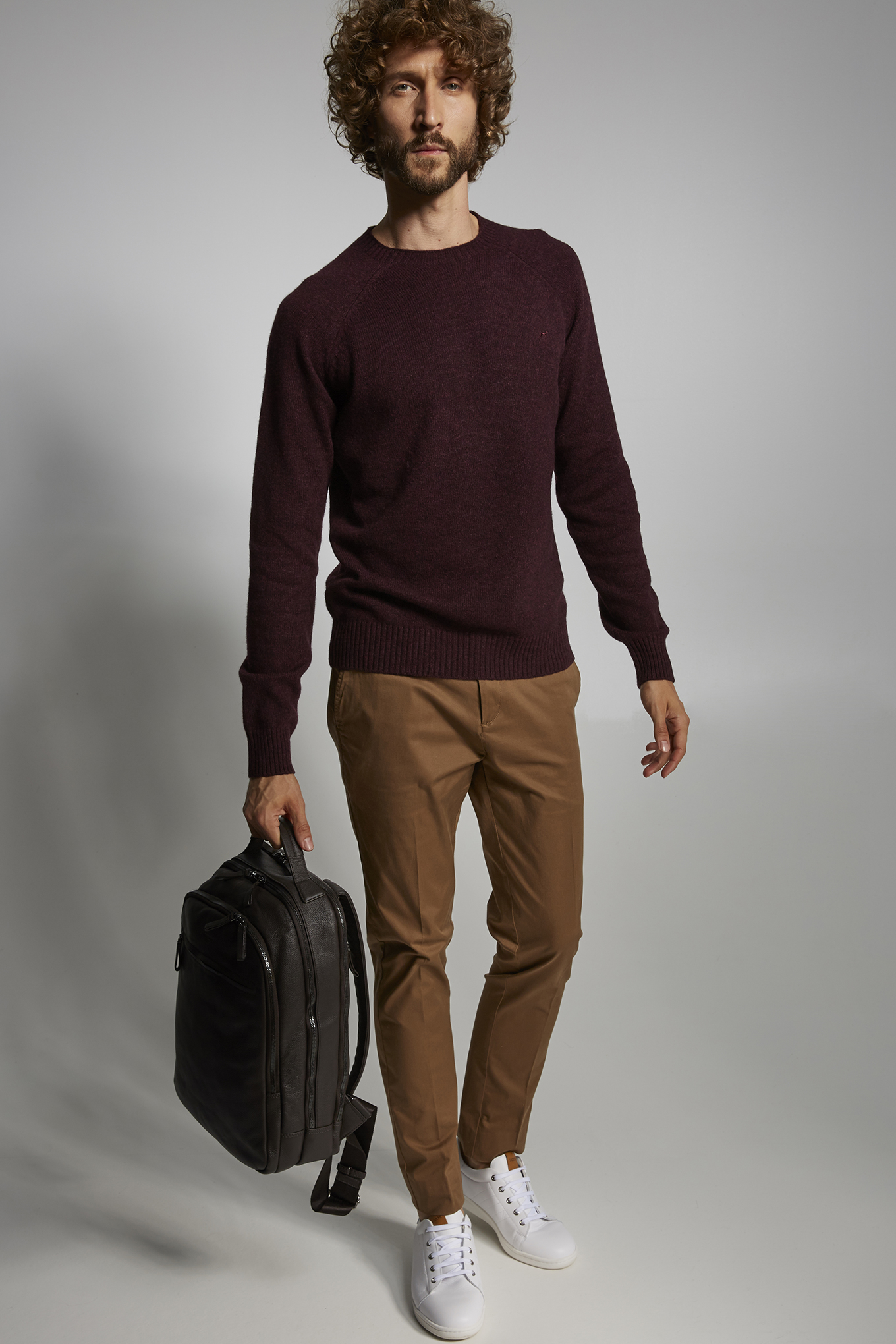 Sweater Bordeaux Sport Man