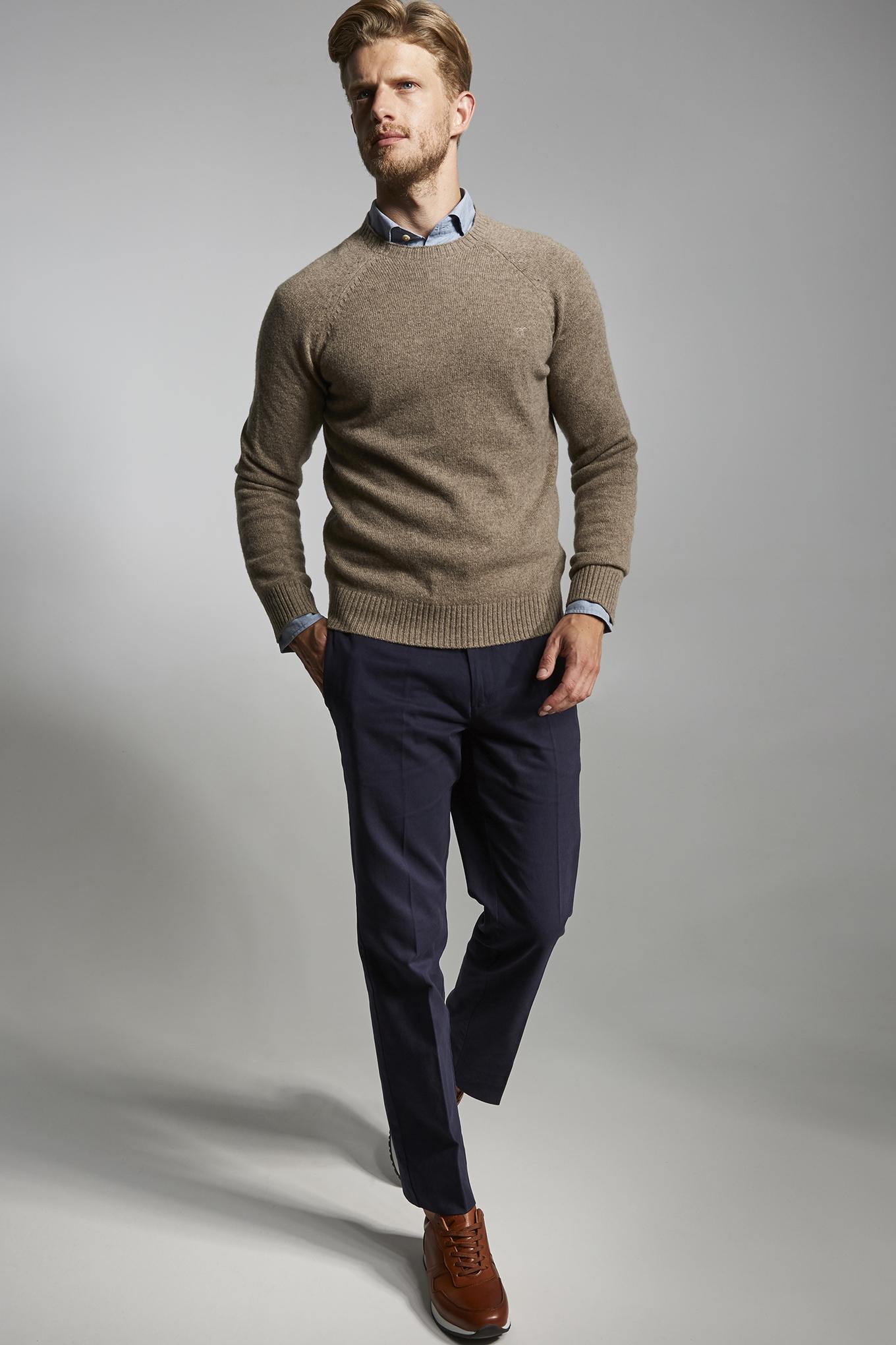 Sweater Dark Beige Sport Man
