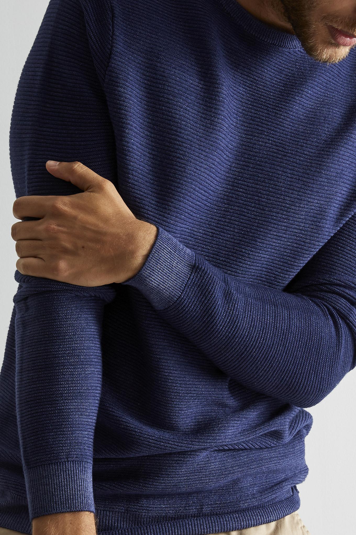 Sweater Blue Sport Man