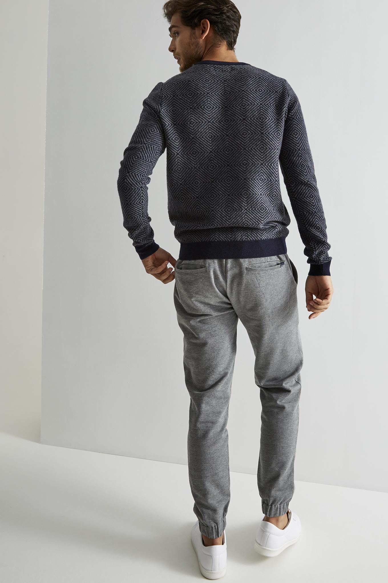 Sweater Dark Blue Sport Man
