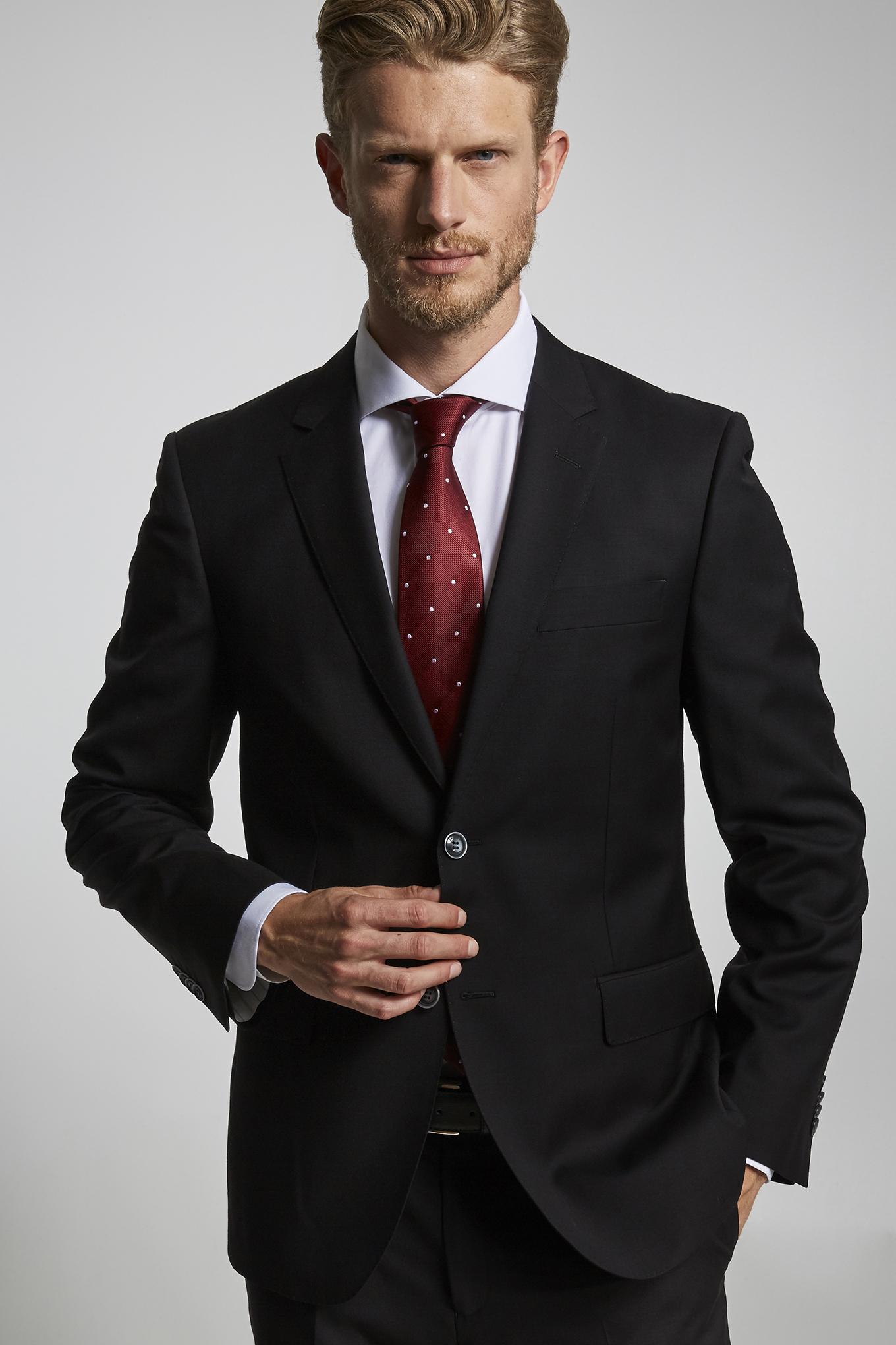 Suit Black Classic Man