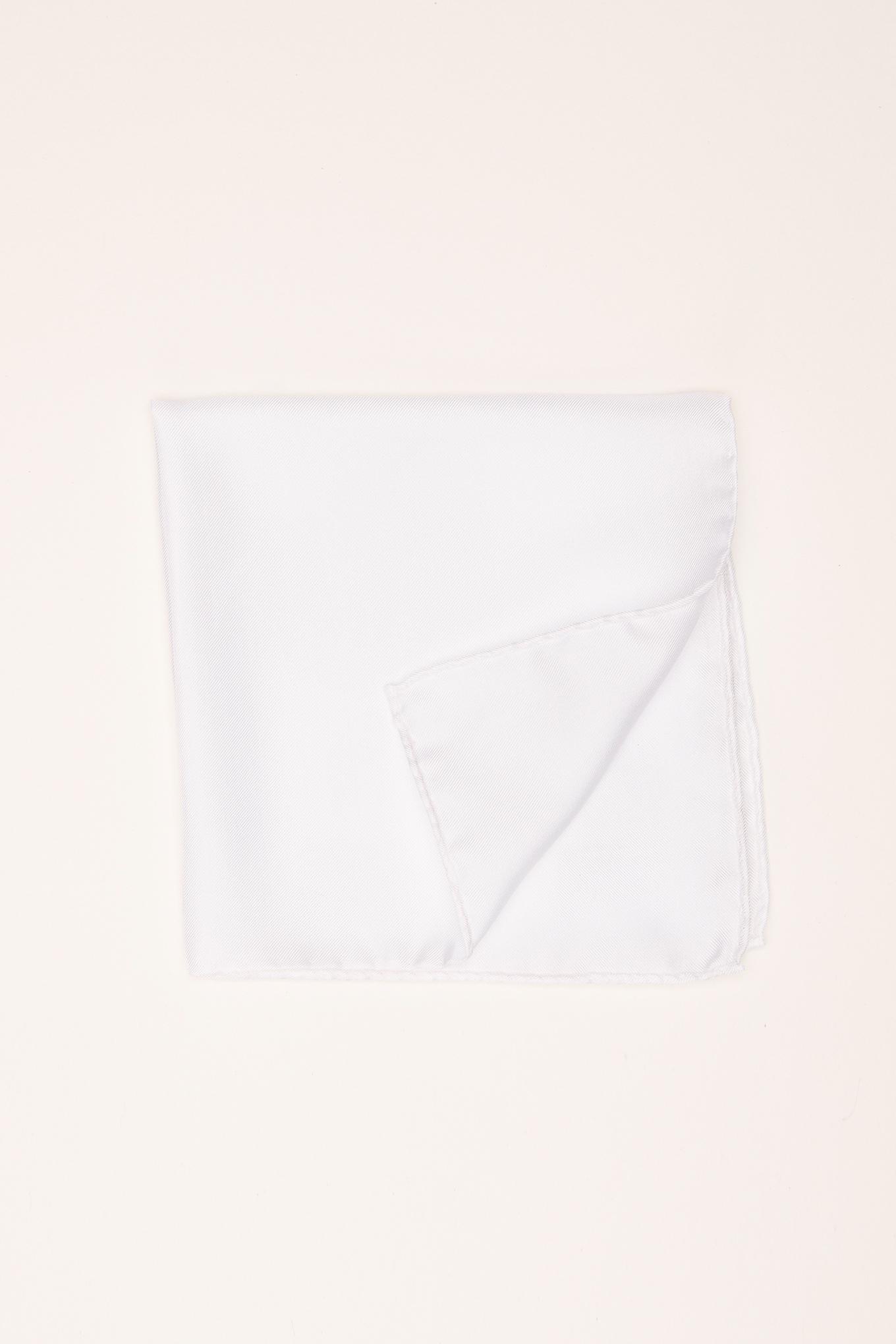 Handkerchief White Classic Man