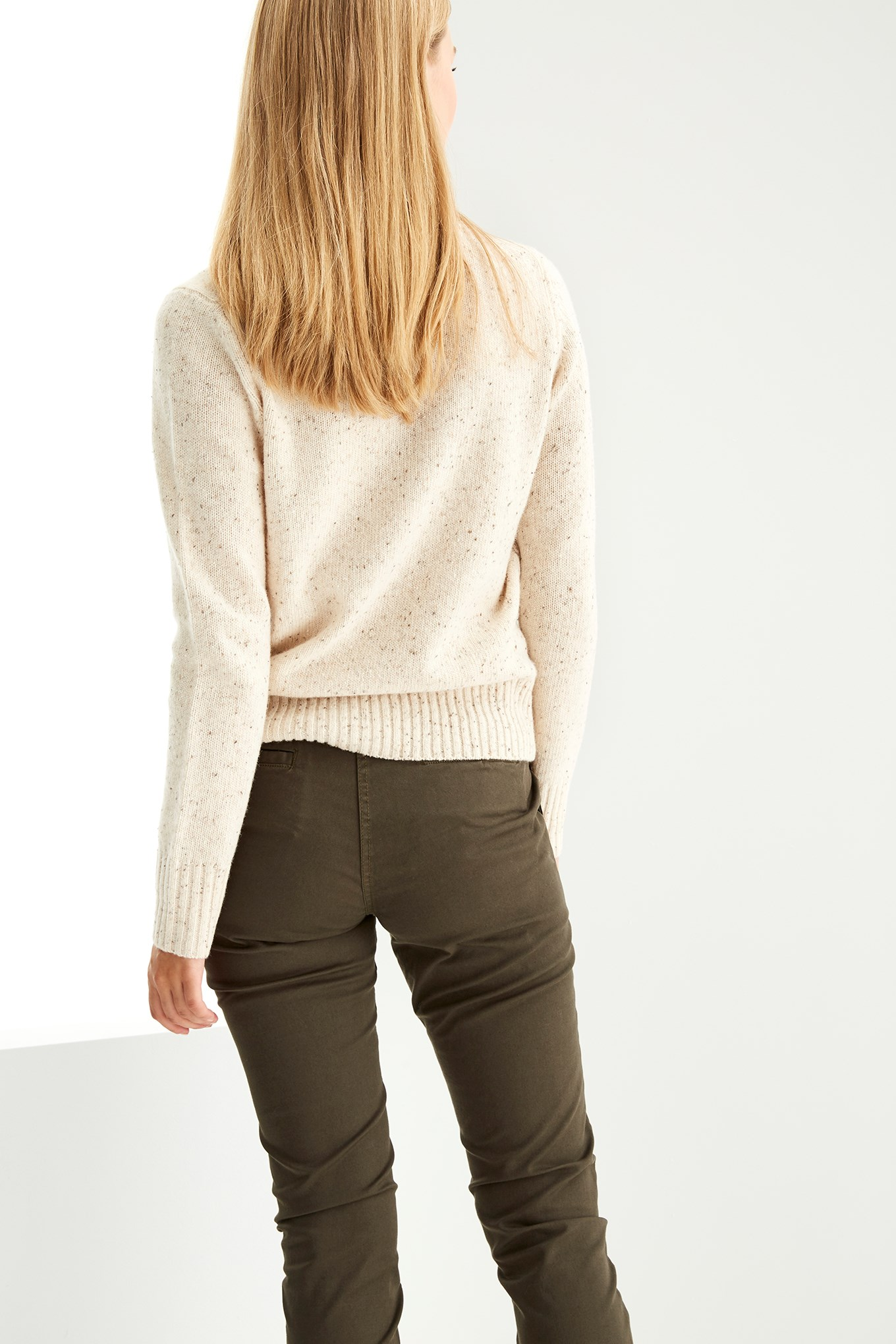 https://static.sacoorbrothers.comSweater Beige Casual Woman