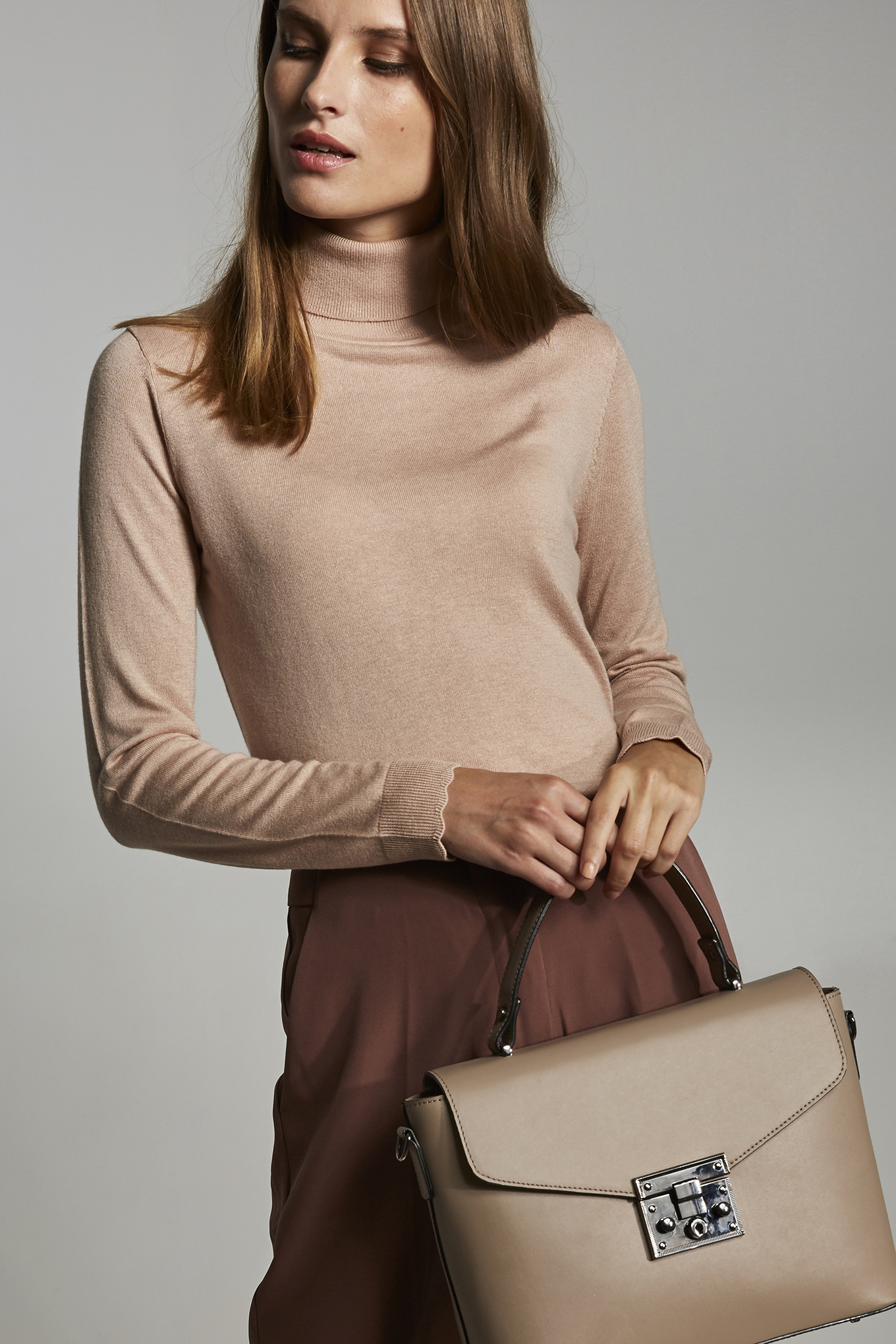 Sweater Pale Pink Casual Woman