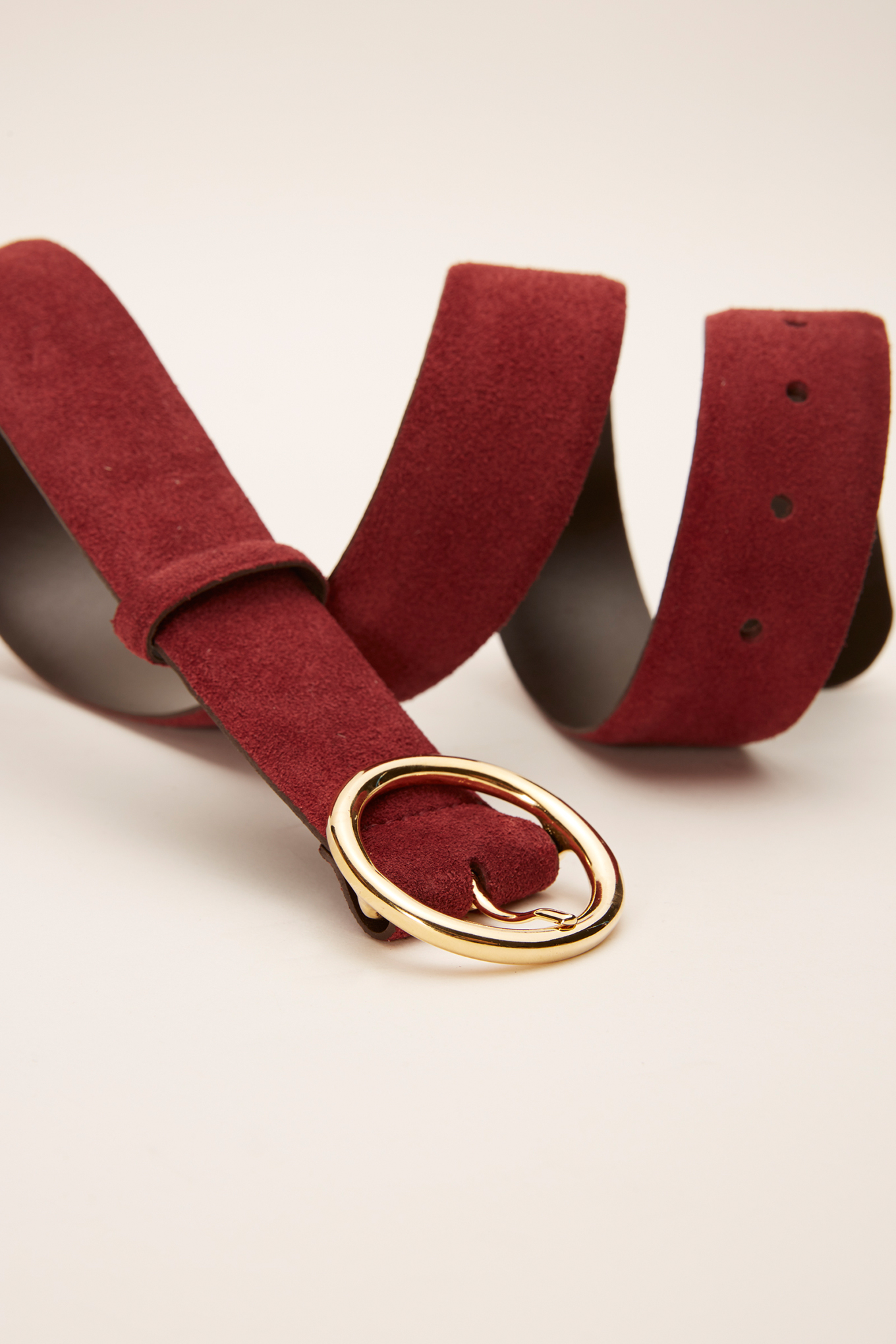 Belt Bordeaux Classic Woman