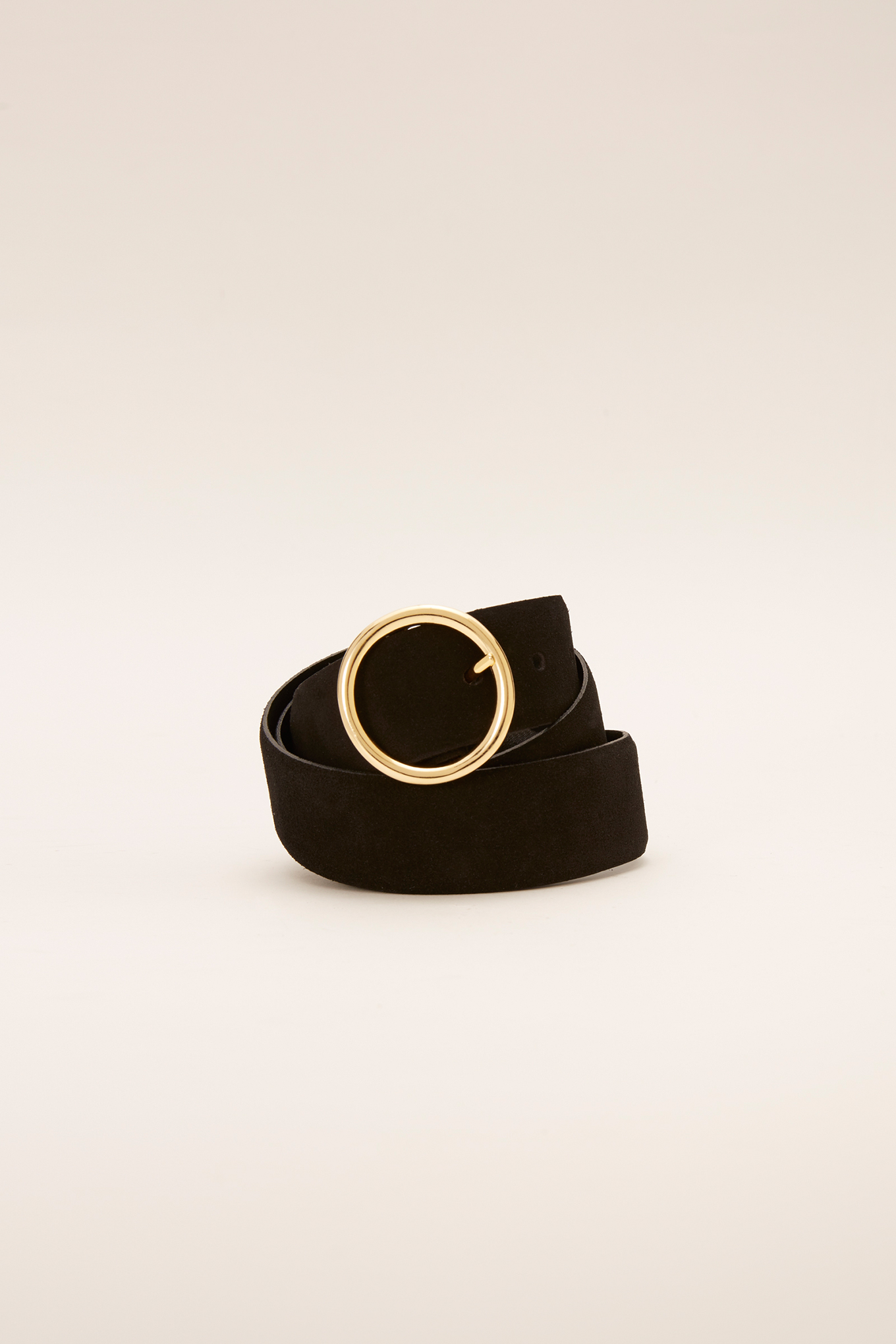 Belt Black Classic Woman