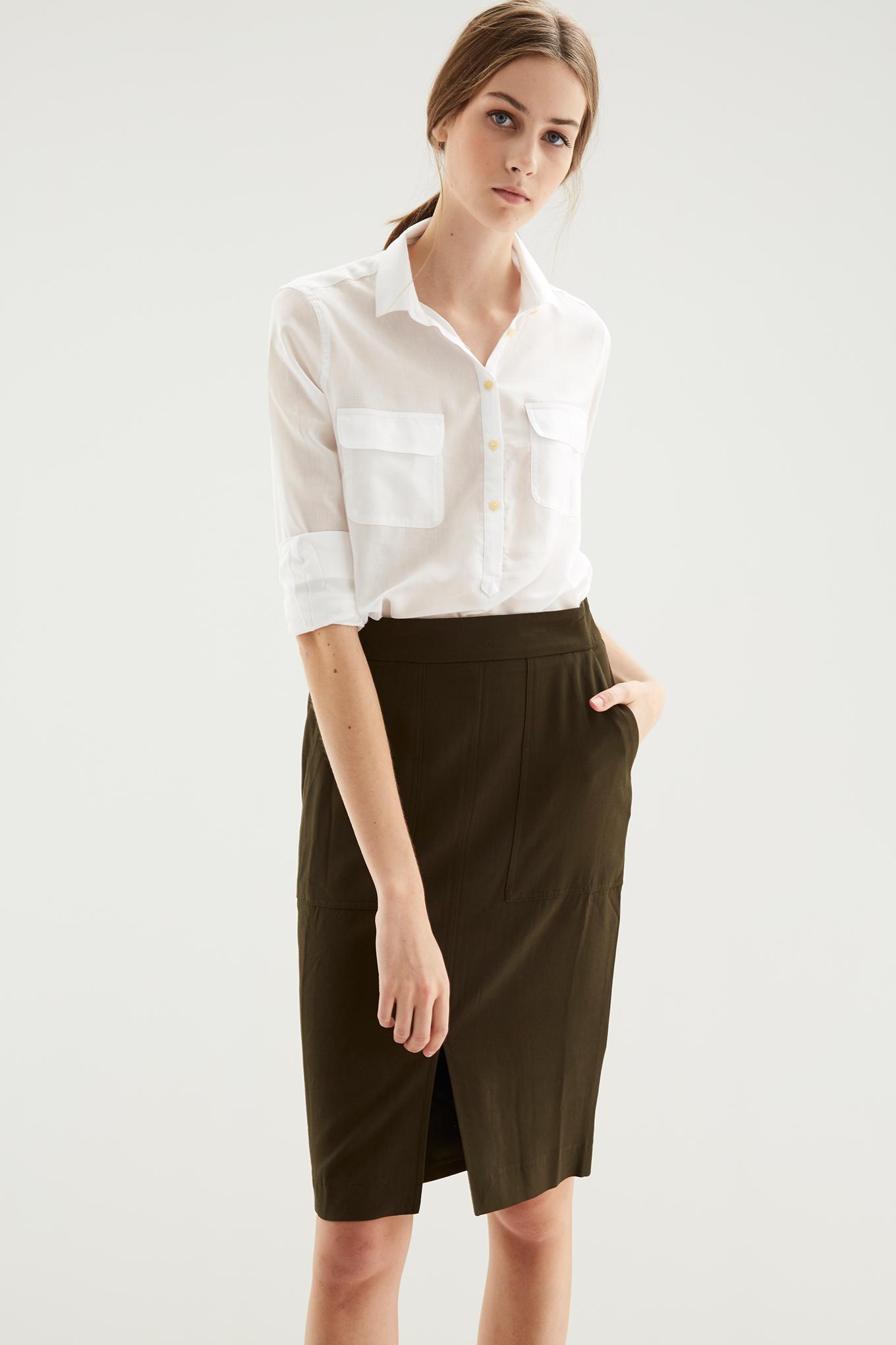Skirt Khaki Fantasy Woman