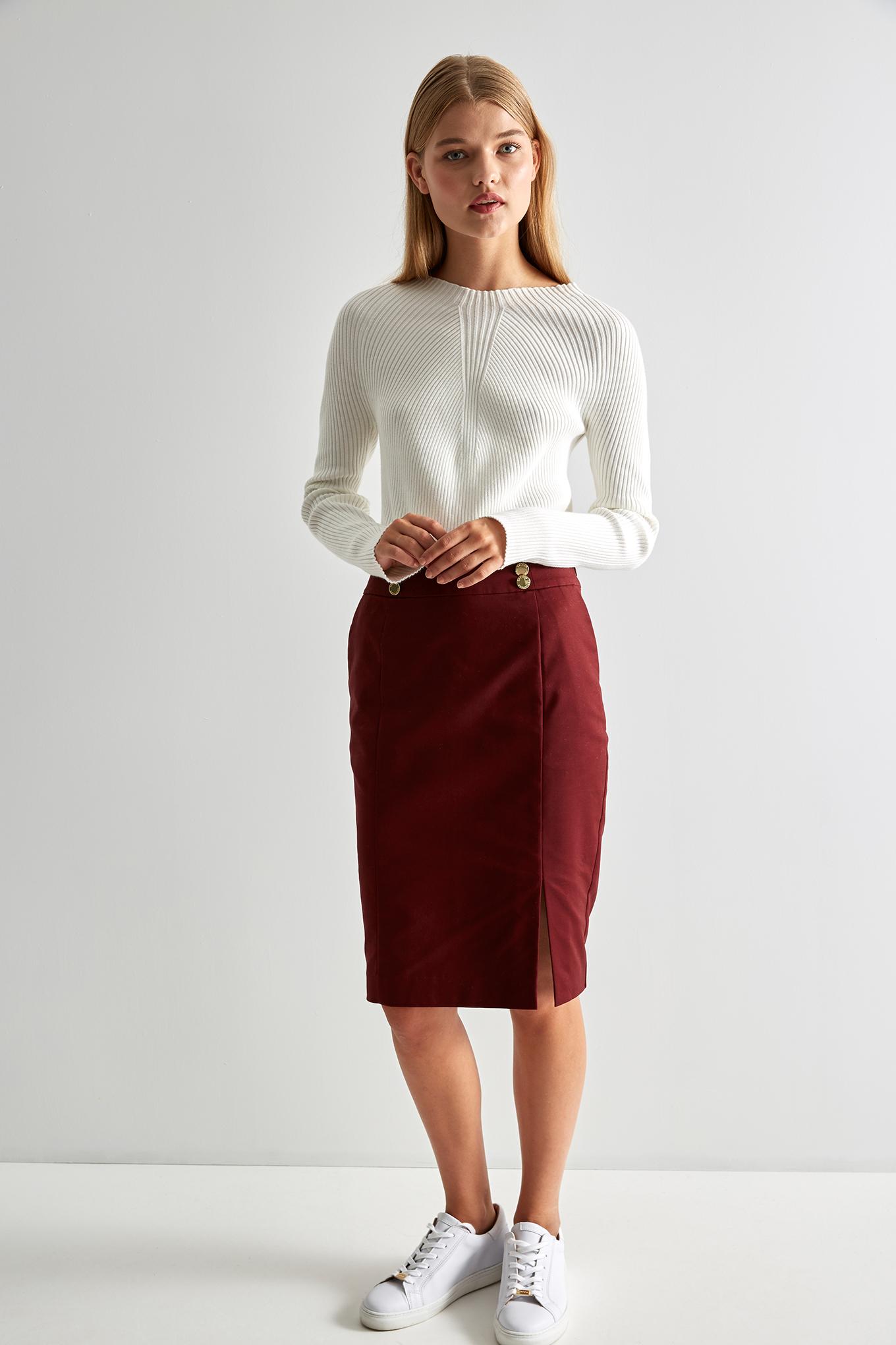 Skirt Bordeaux Fantasy Woman