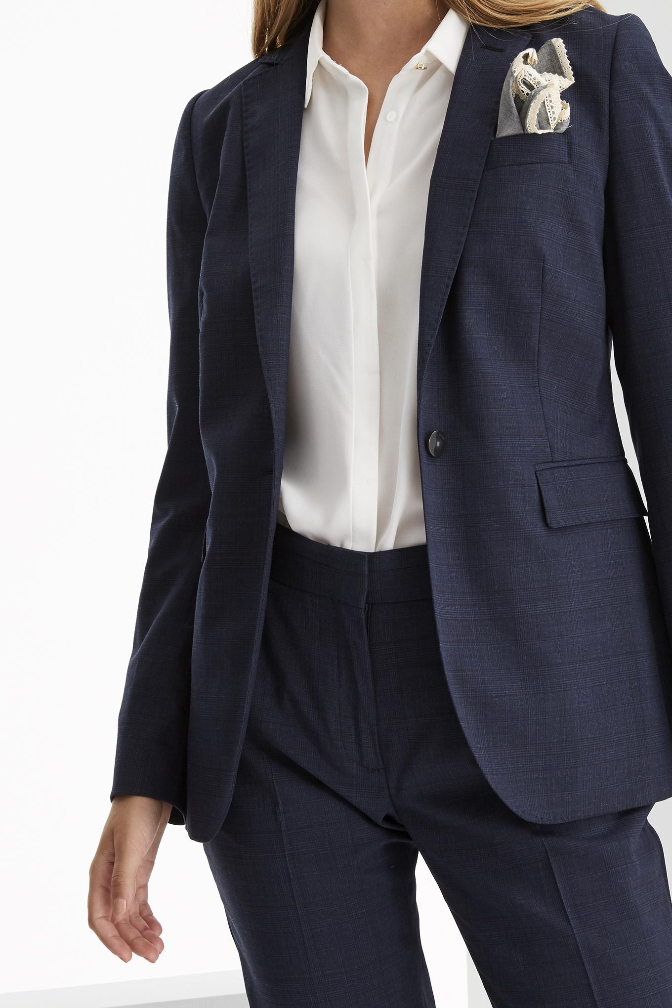 Suit Dark Blue Classic Woman