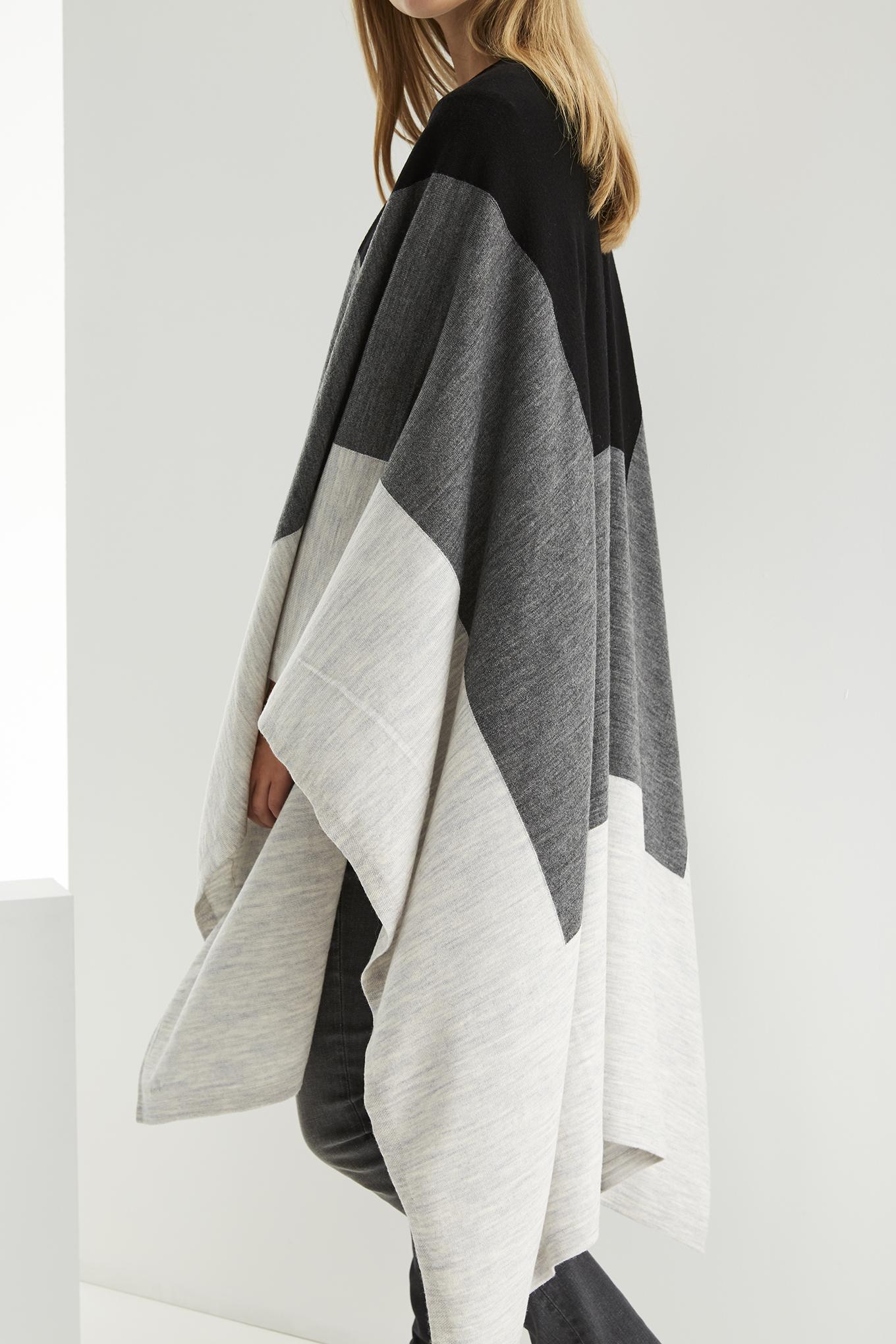 Scarf Grey Casual Woman