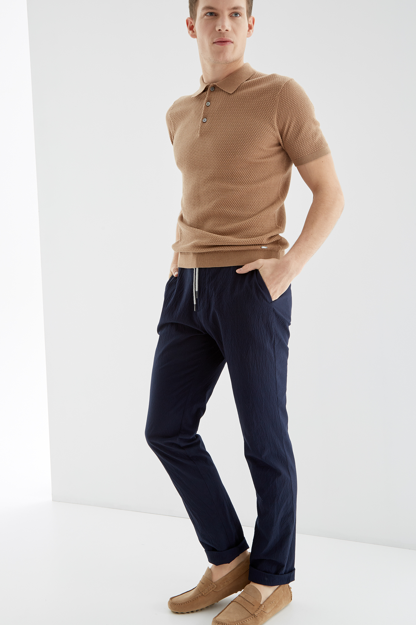 Sweater Camel Casual Man