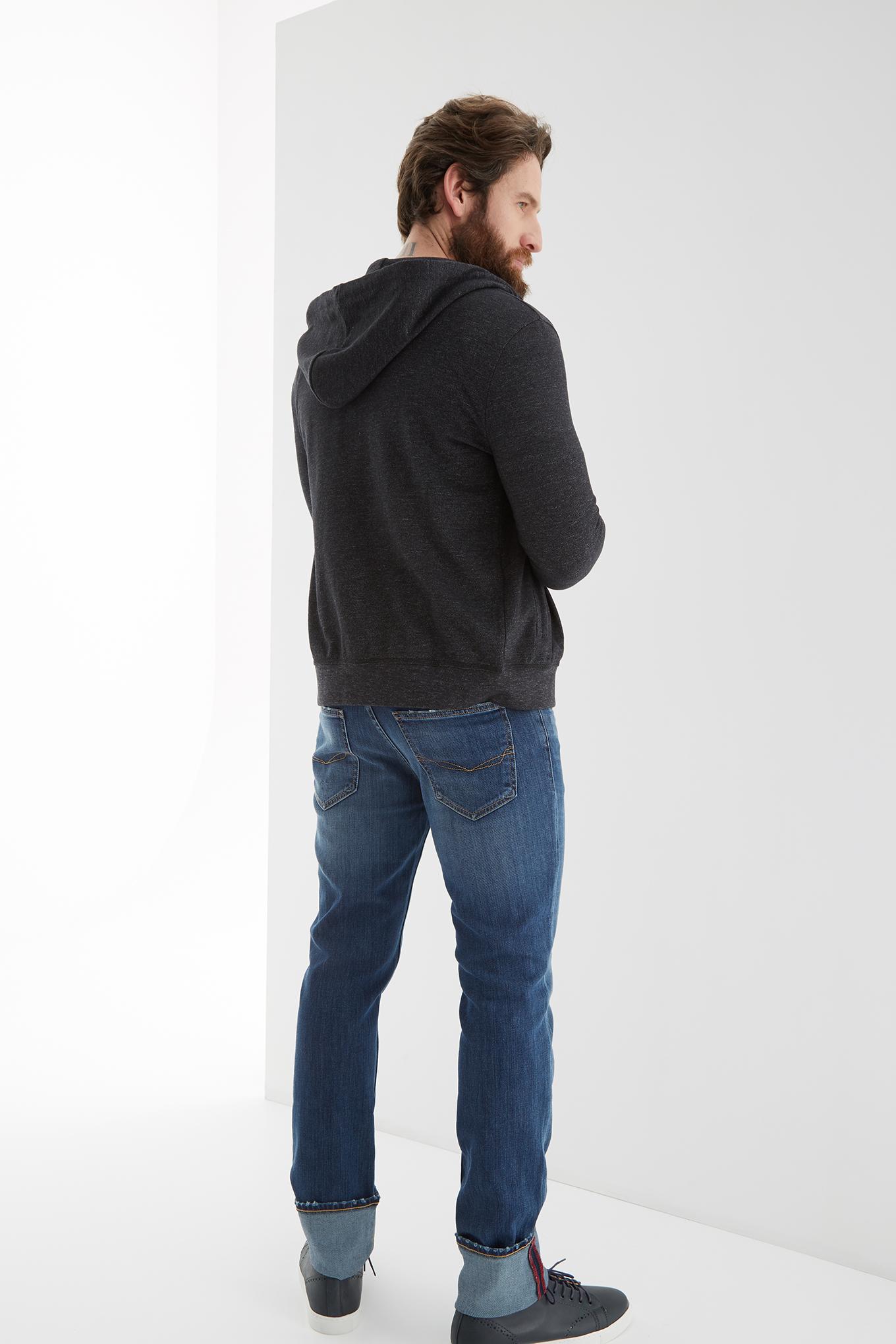 Sweatshirt Black Sport Man