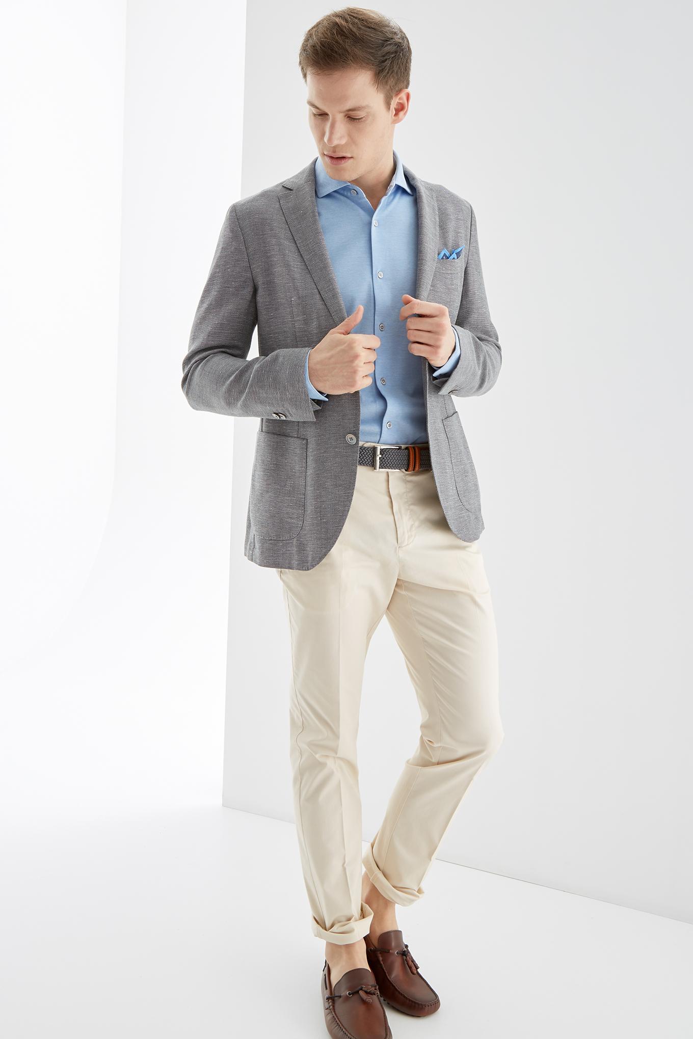 Chino Trousers Ecru Sport Man