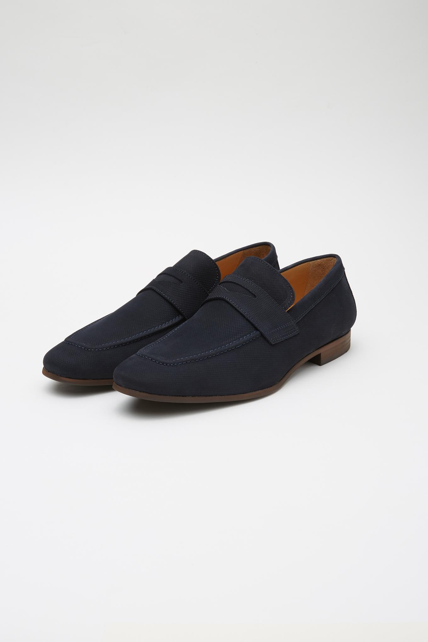 Shoes Dark Blue Classic Man