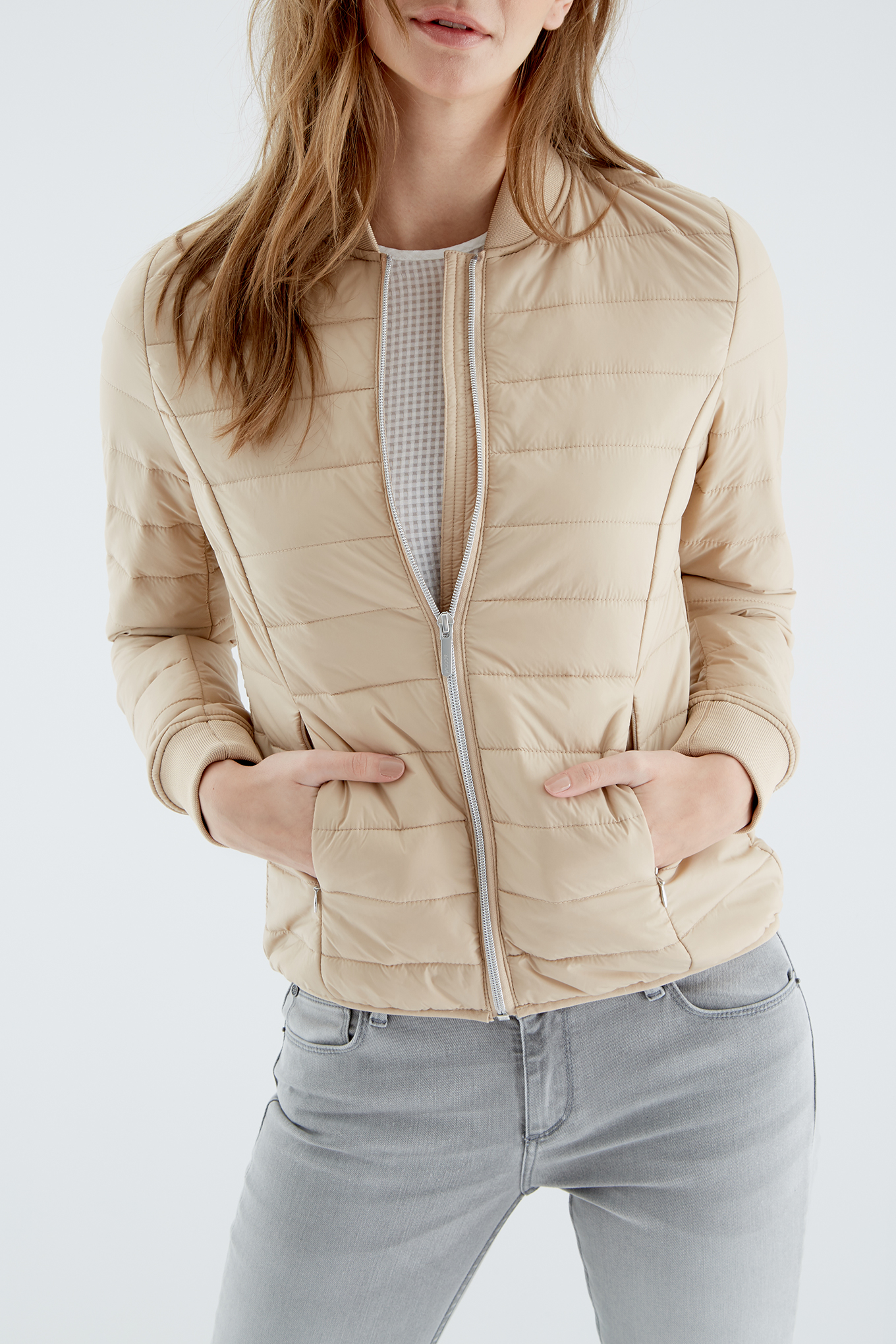 Jacket Sand Casual Woman