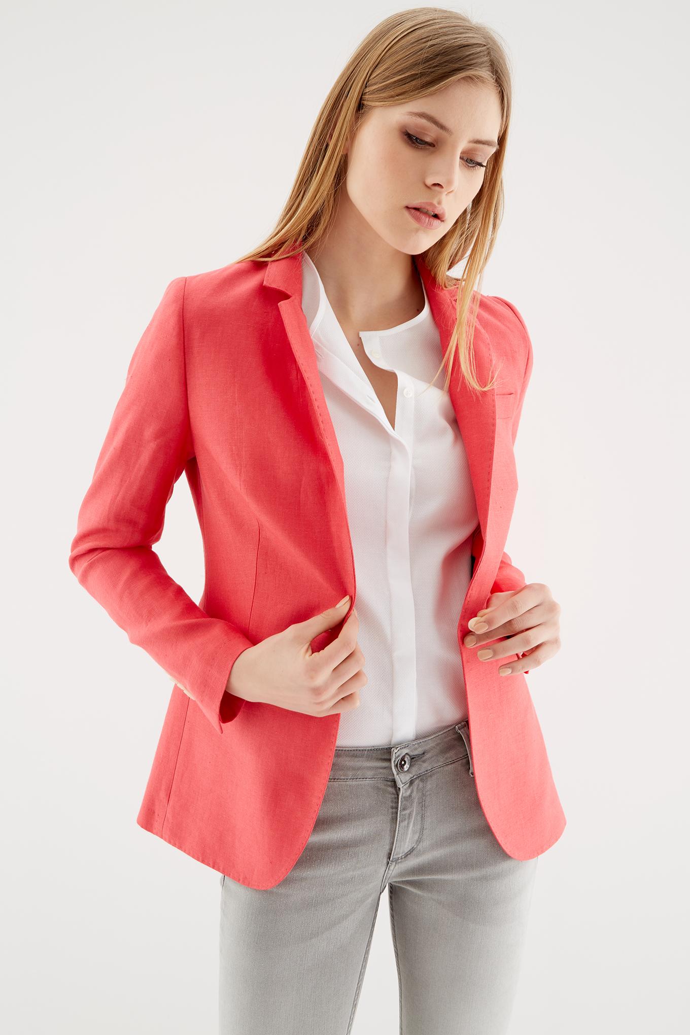 Blazer Pink Classic Woman