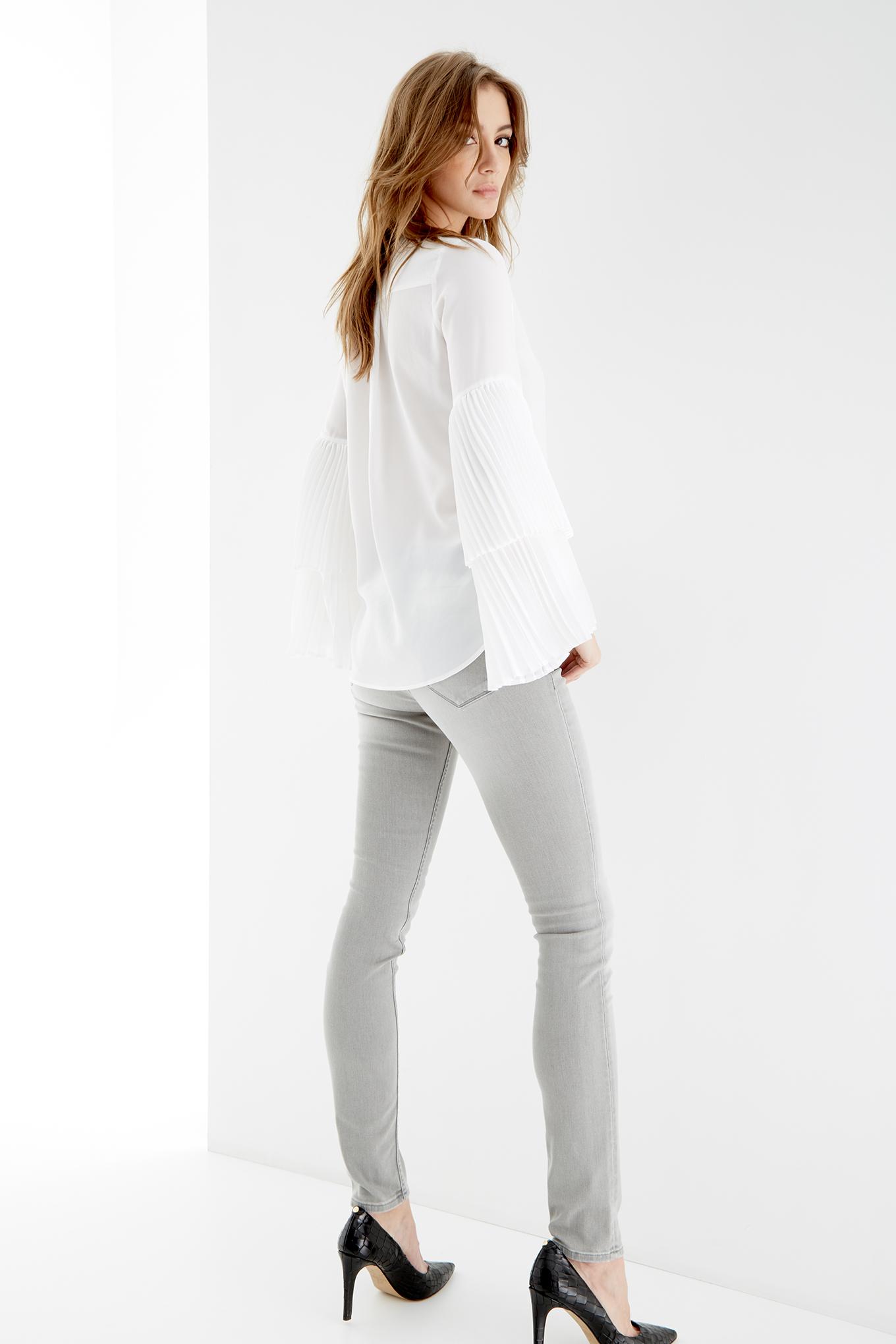 Jeans Light Grey Sport Woman