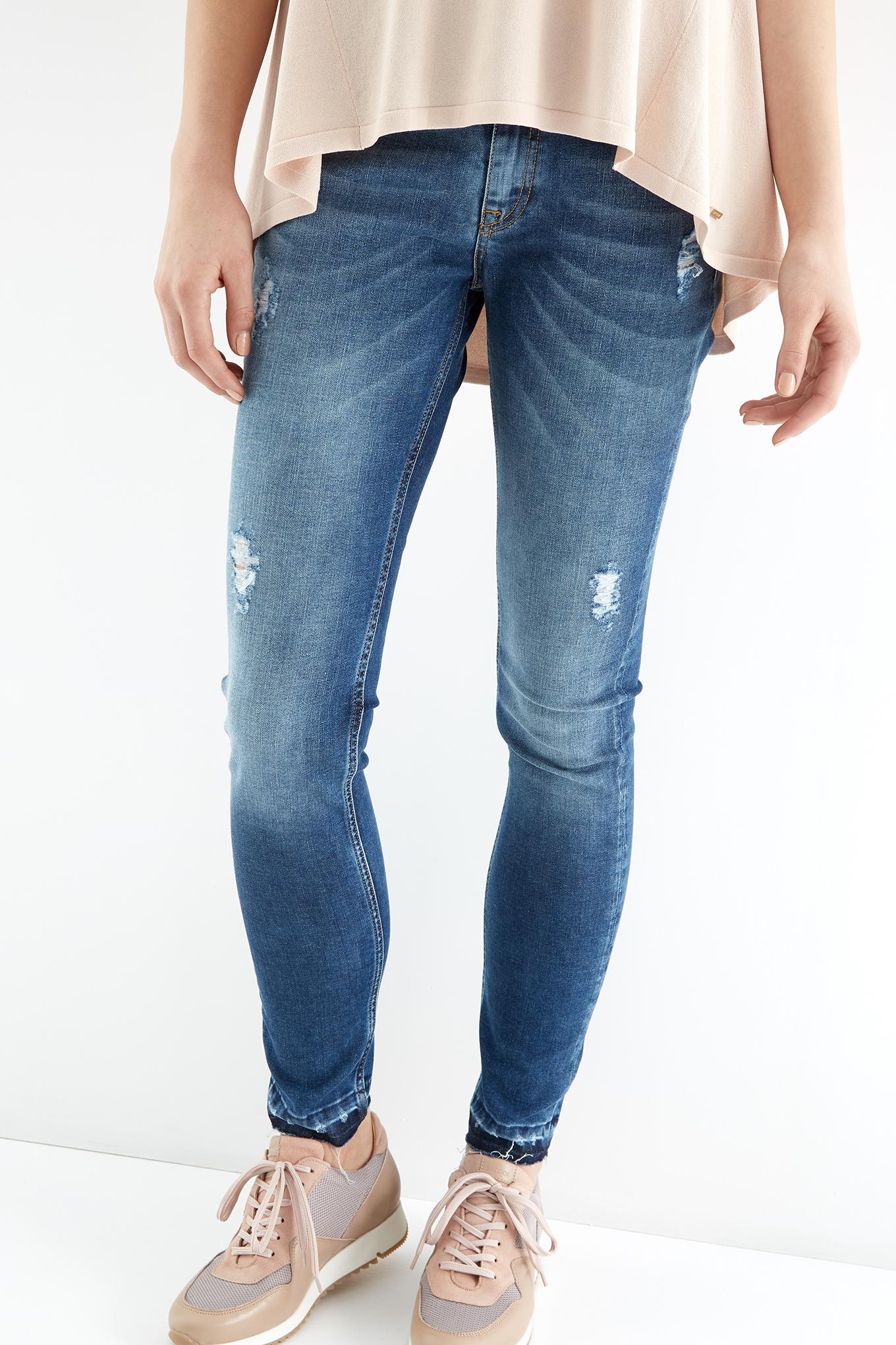 Jeans Medium Blue Sport Woman