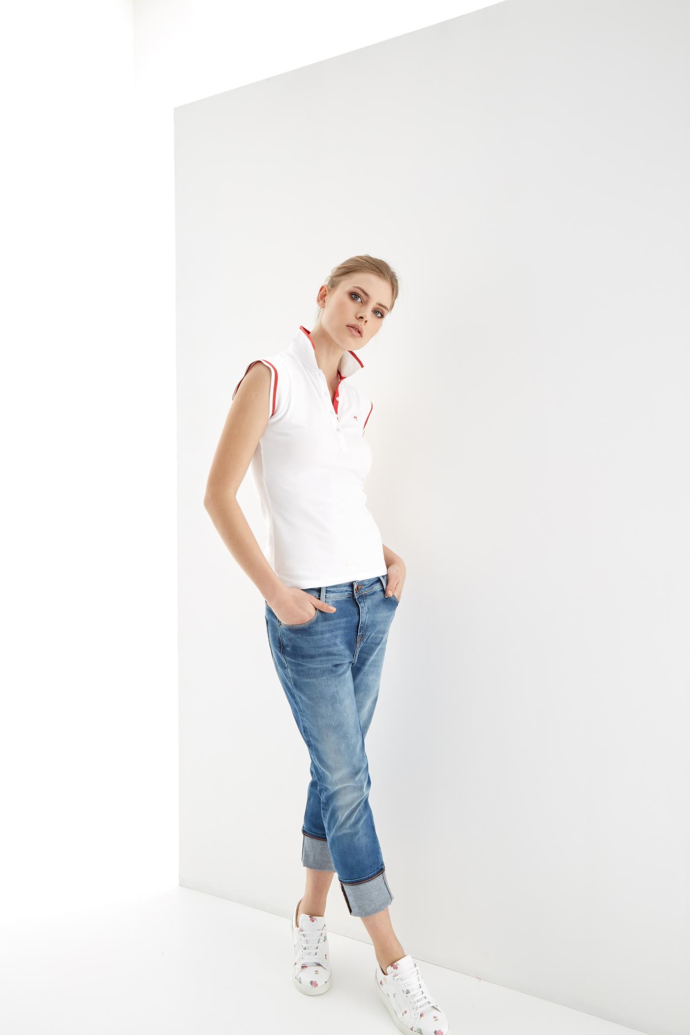 Jeans Light Blue Sport Woman