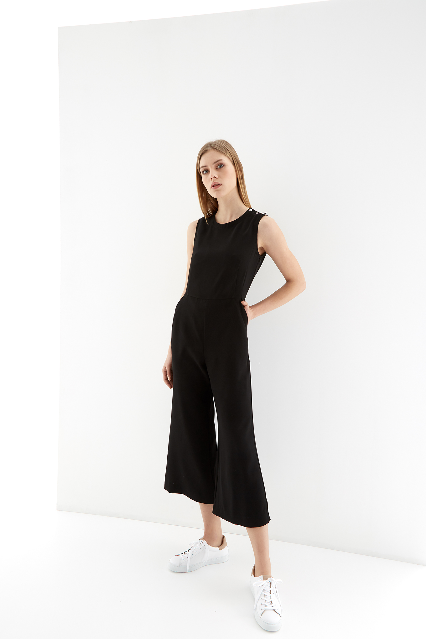 Jumpsuit Black Fantasy Woman