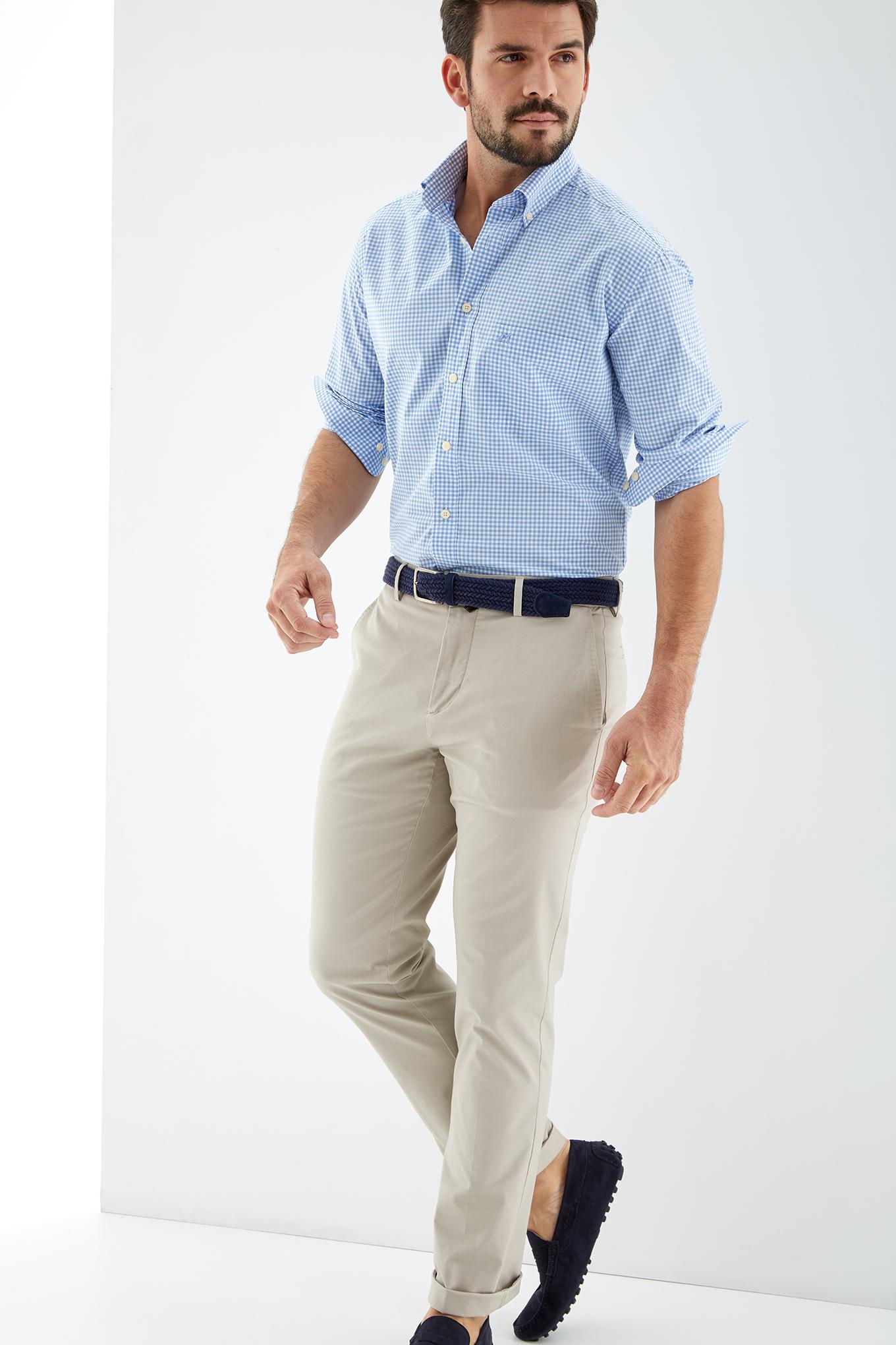 Shirt Blue Sport Man