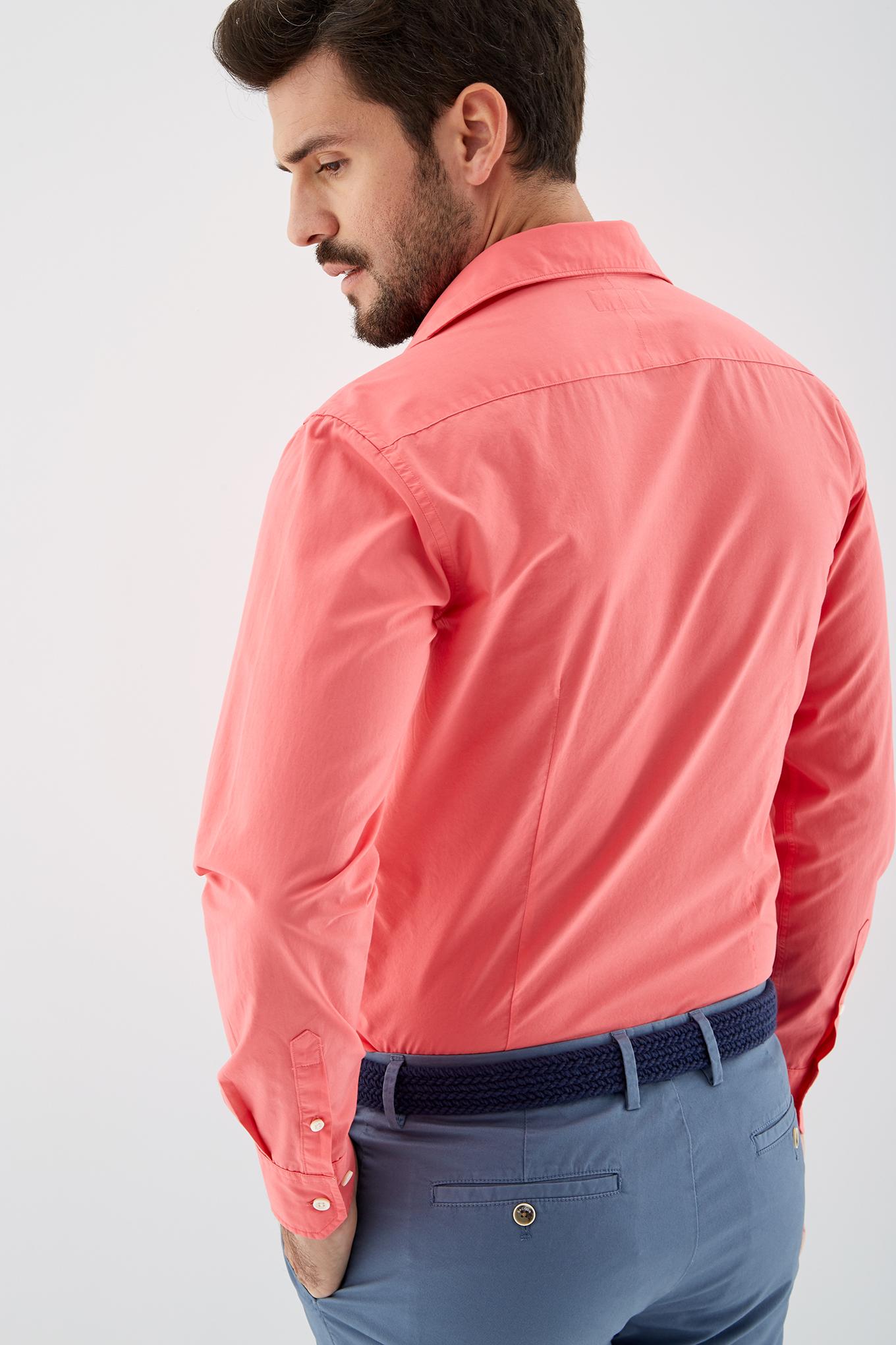 Camisa Salmão Sport Homem