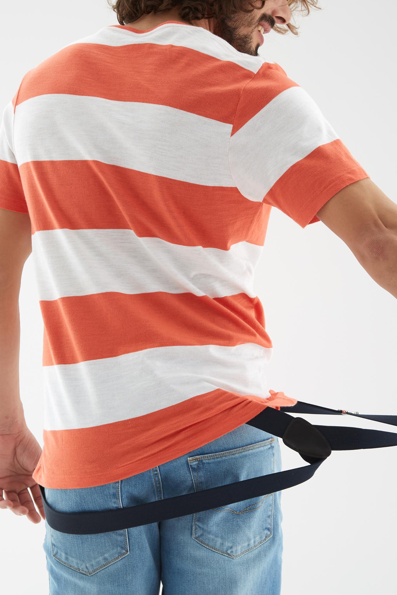 T-Shirt Orange Sport Man