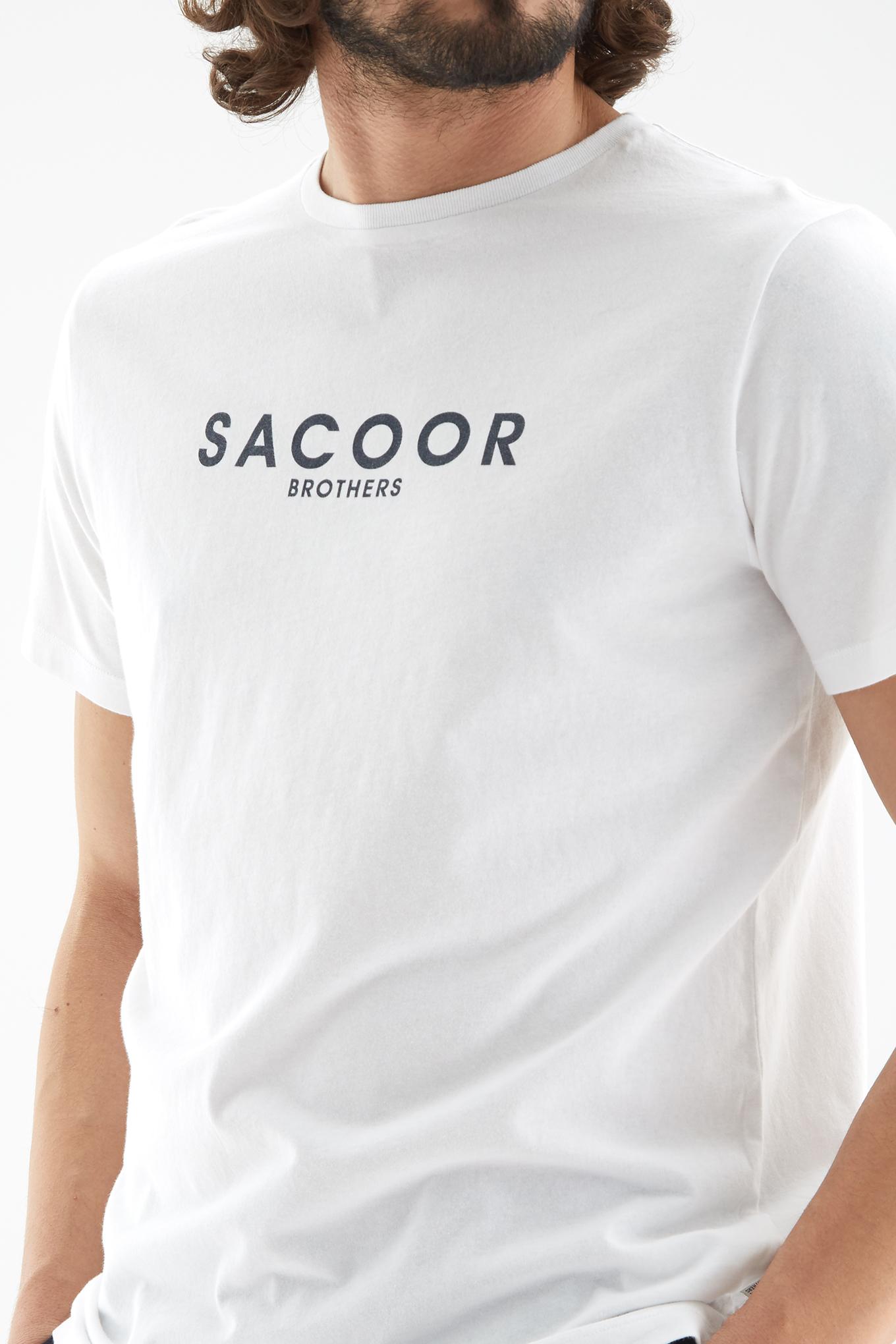 T-Shirt Branco Sport Homem