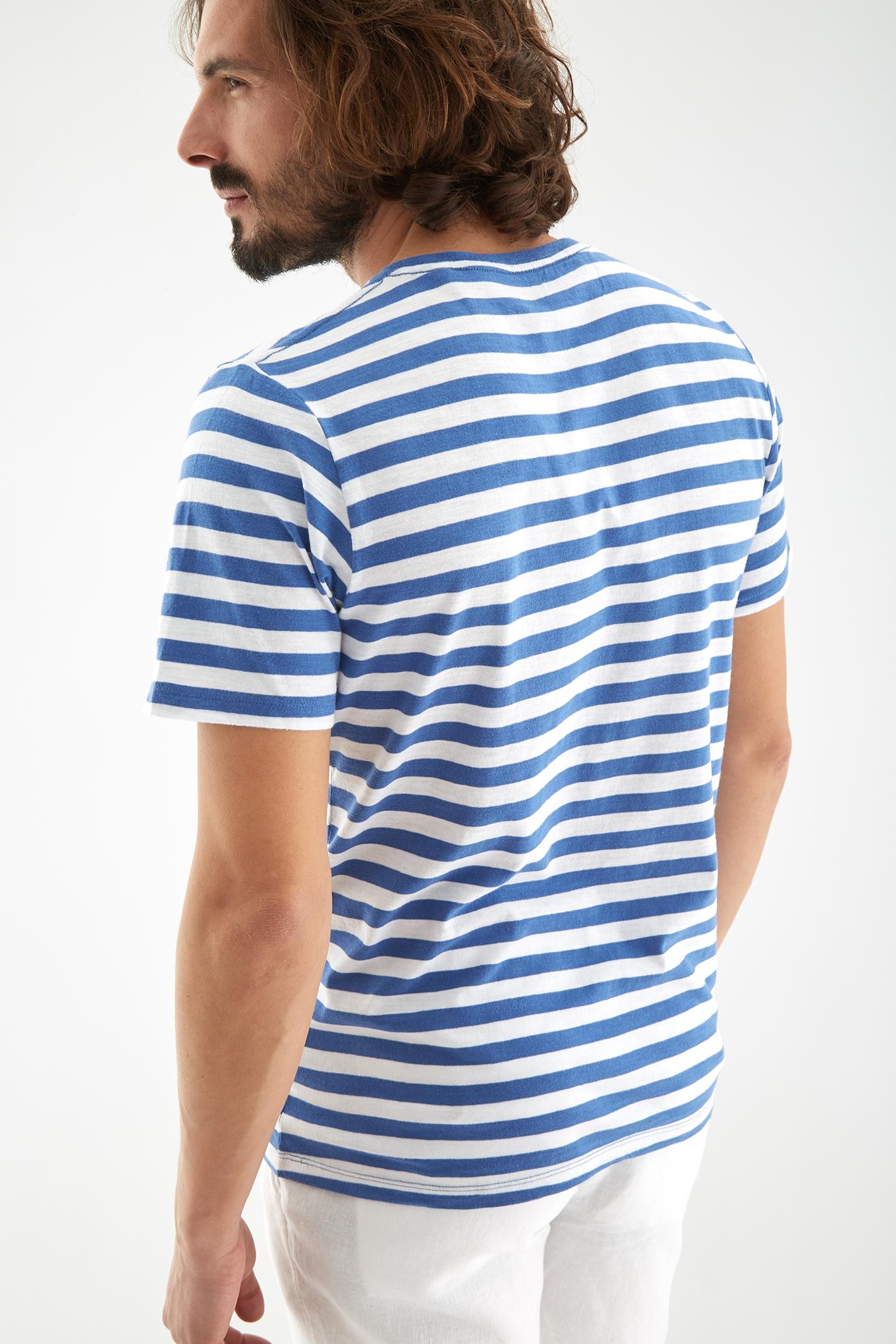 T-Shirt Azul Sport Homem