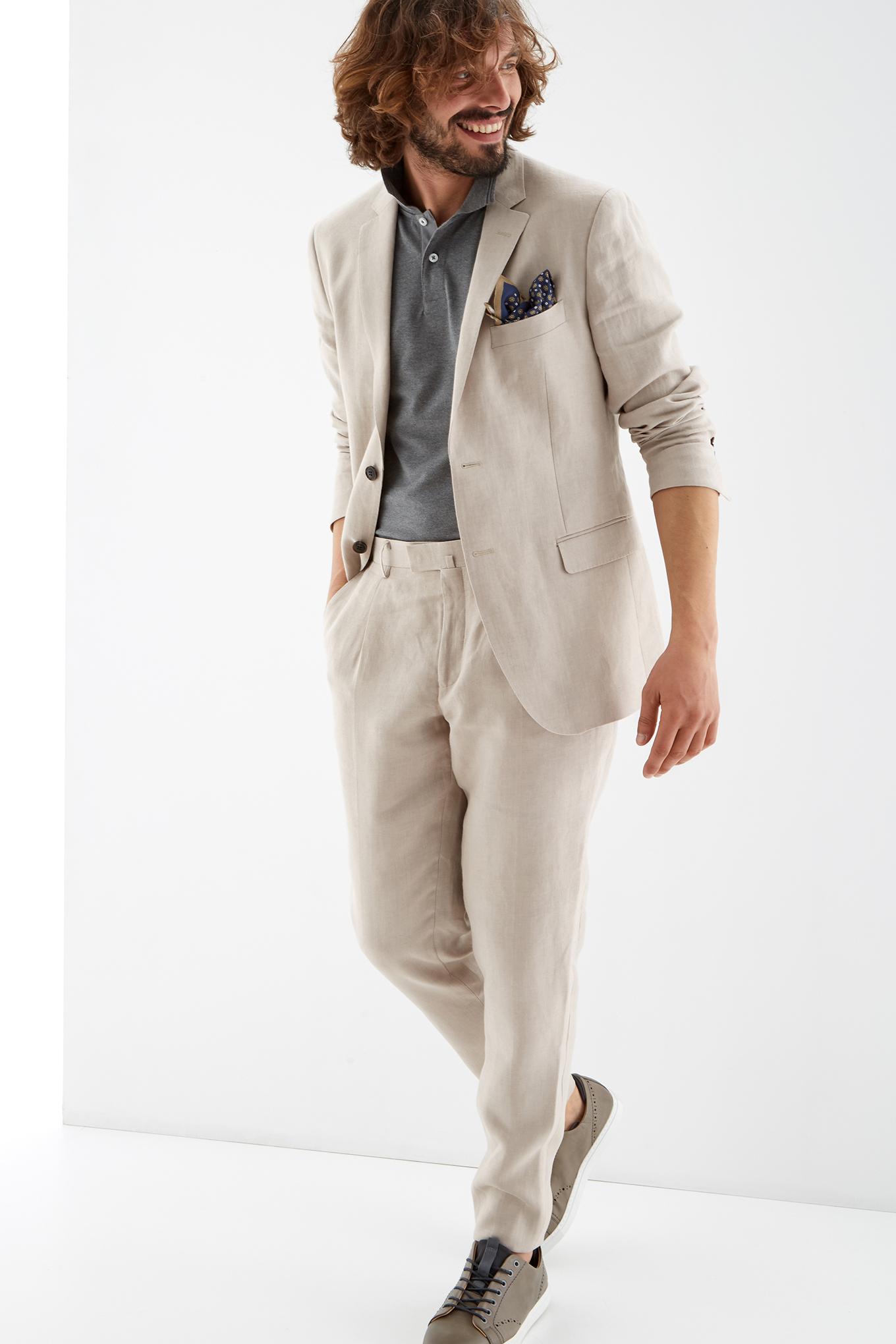Suit Beige Classic Man