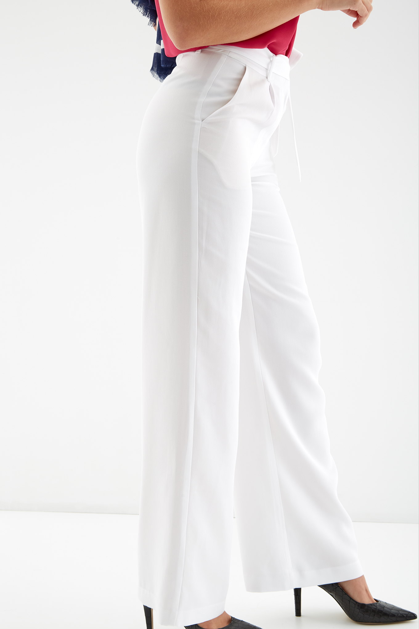 Trousers White Fantasy Woman