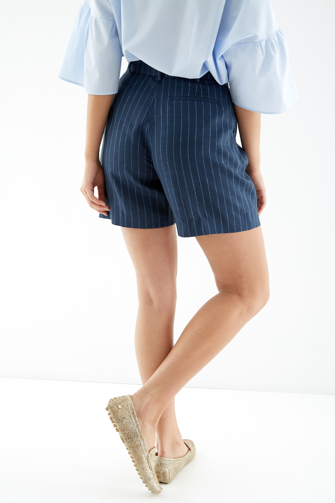 Shorts Dark Blue Fantasy Woman