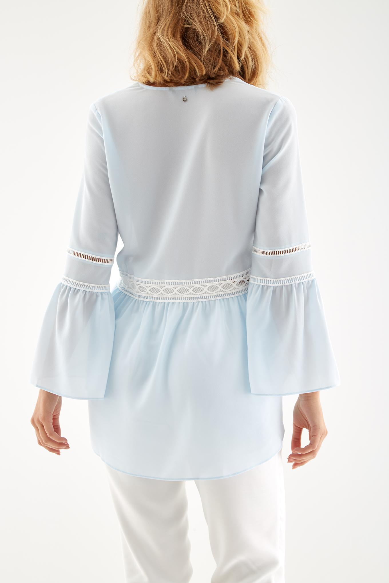 Blusa Azul Claro Fantasy Mulher