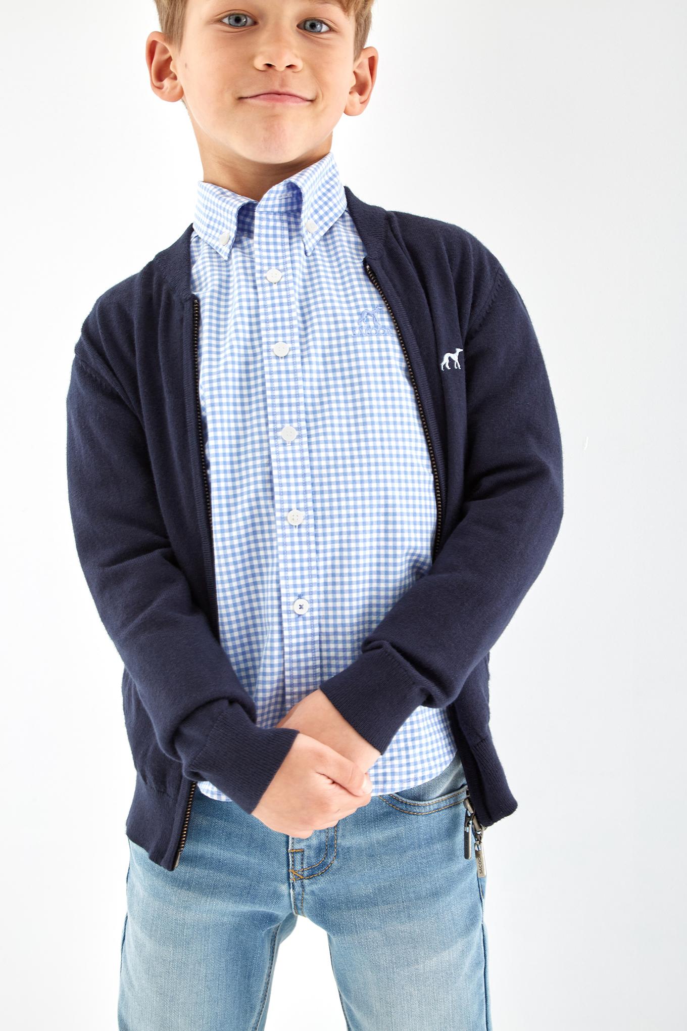Cardigan Azul Escuro Sport Rapaz