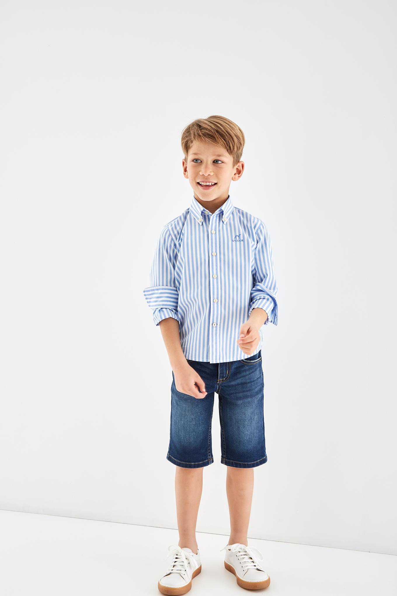 Bermuda Medium Blue Sport Boy