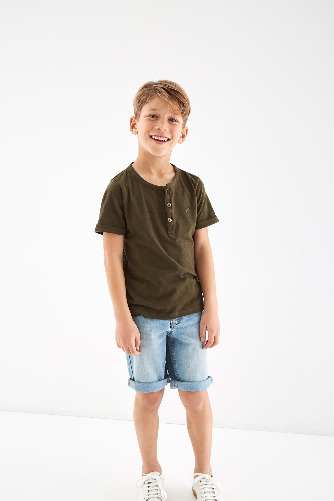 T-Shirt Khaki Sport Boy