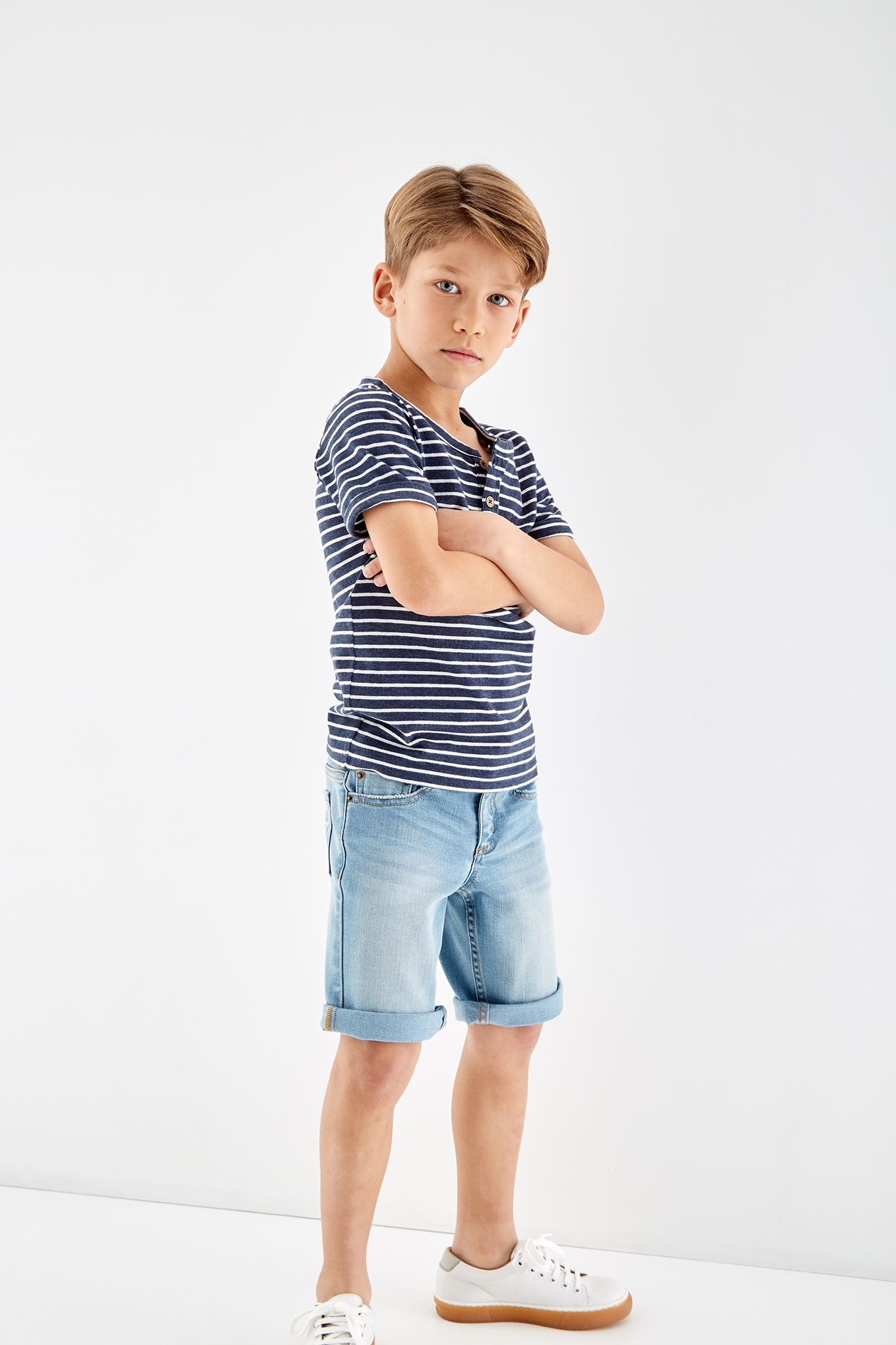 T-Shirt Stripes Sport Boy