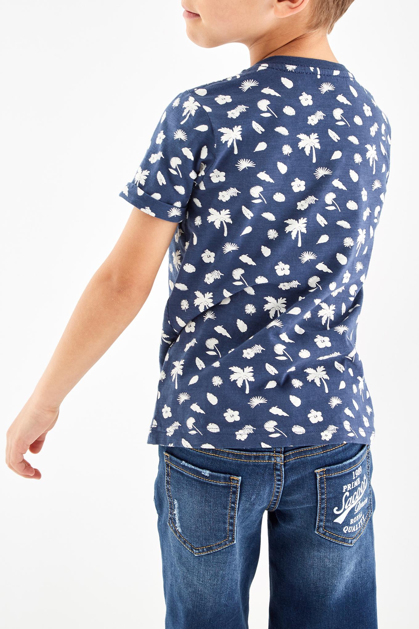 T-Shirt Blue Sport Boy