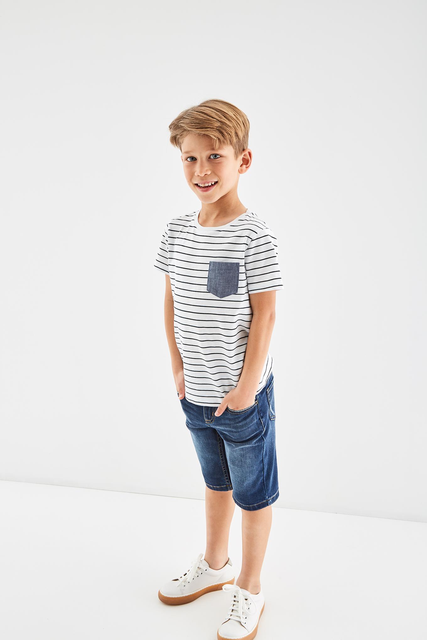 T-Shirt White Sport Boy