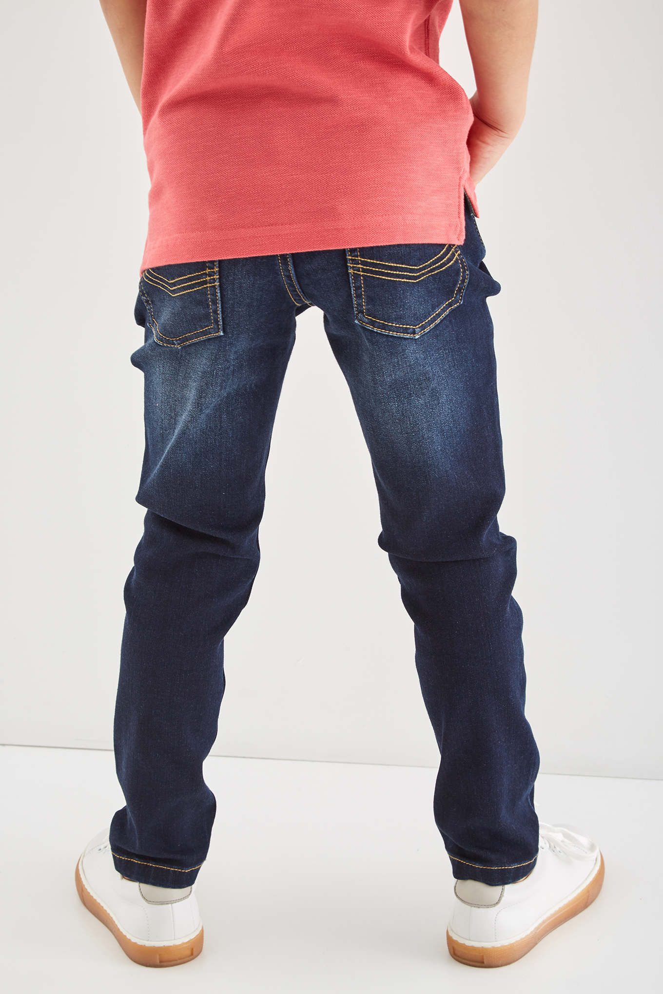 Jeans Dark Blue Sport Boy