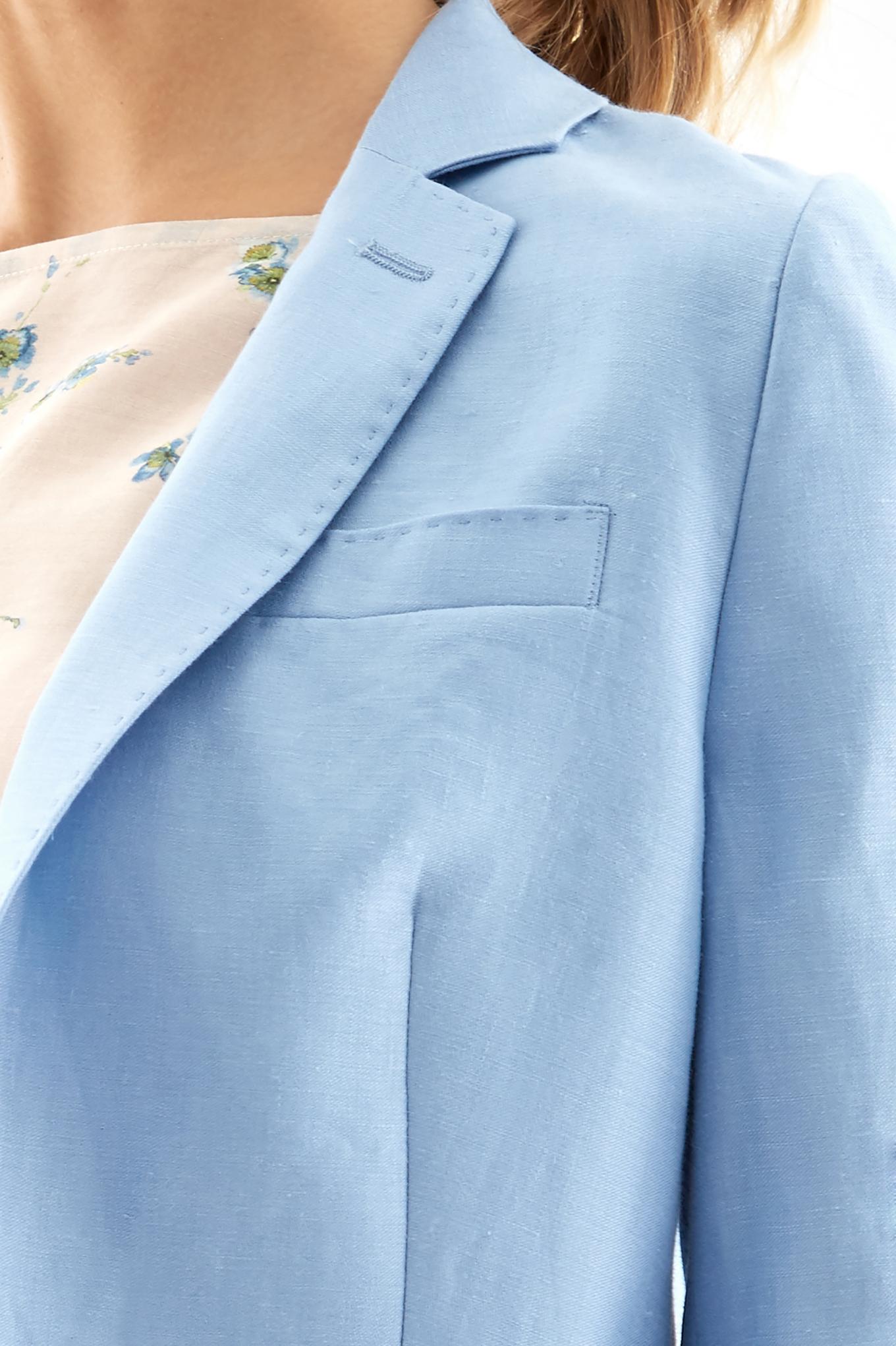 Blazer Light Blue Classic Woman
