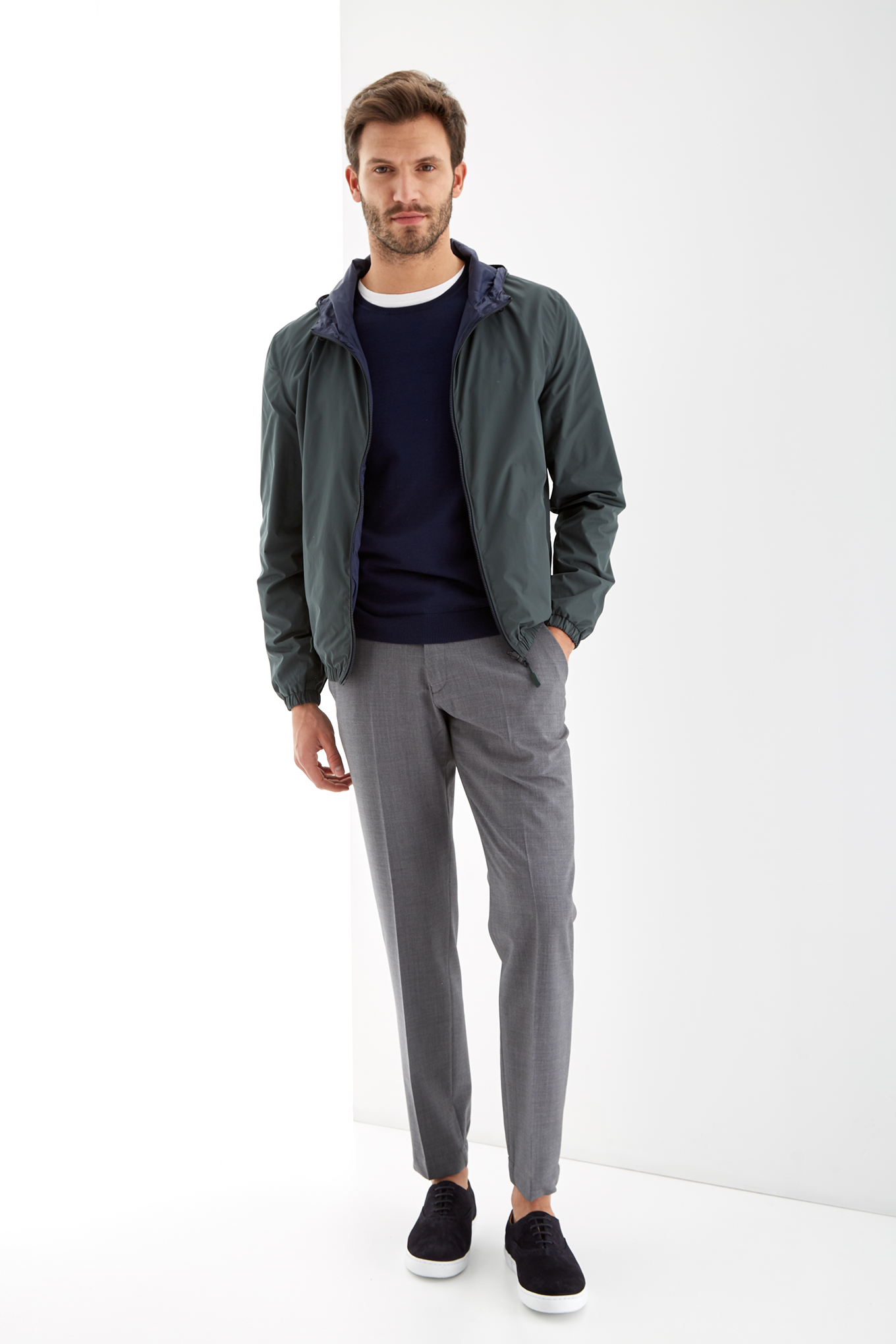 Jacket Dark Green Sport Man