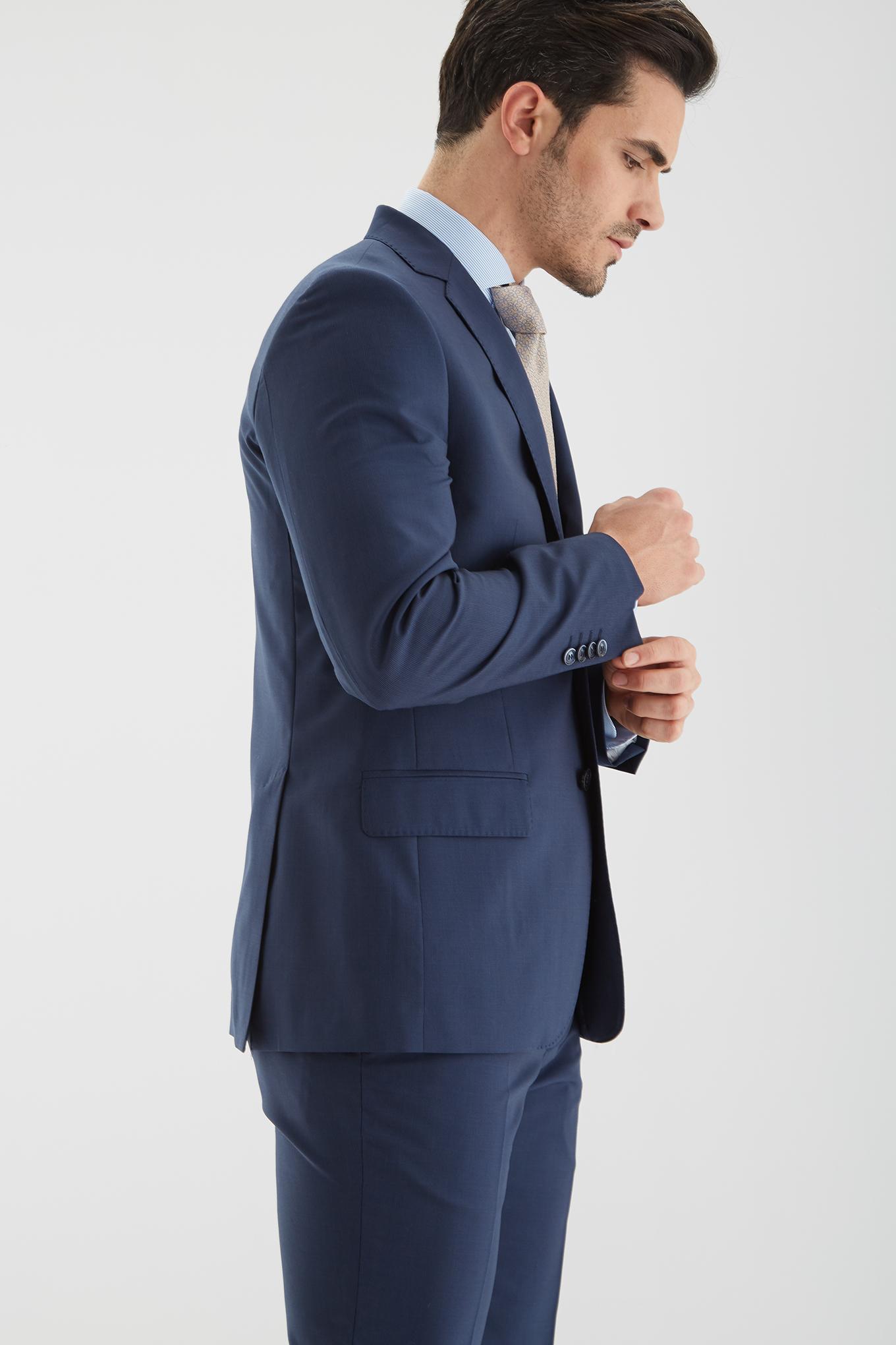 Fato Azul Classic Homem