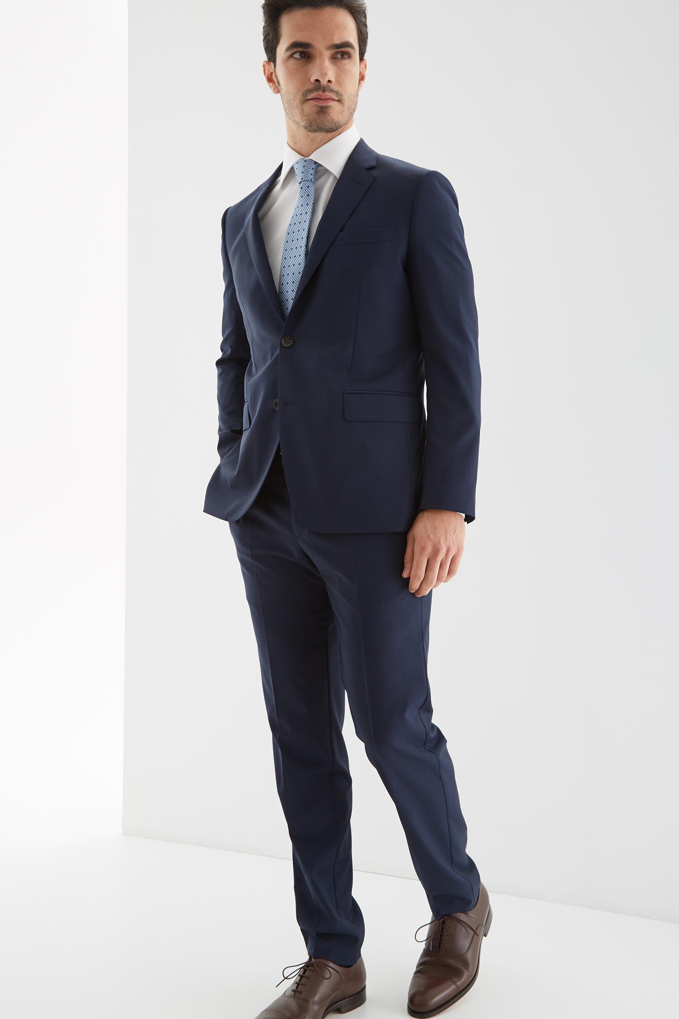 Fato Azul Escuro Classic Homem