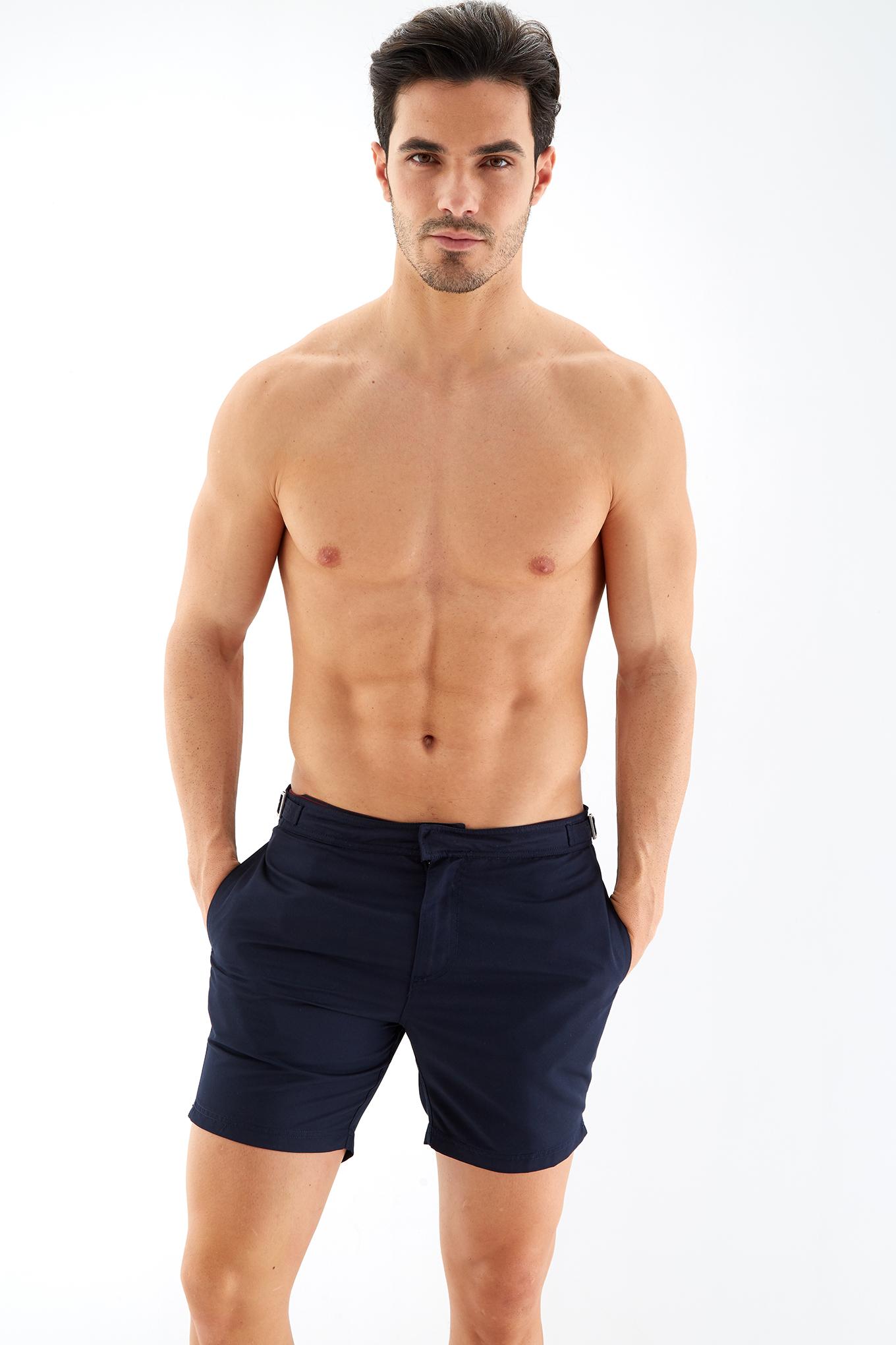 Calções de Banho Azul Escuro Sport Homem