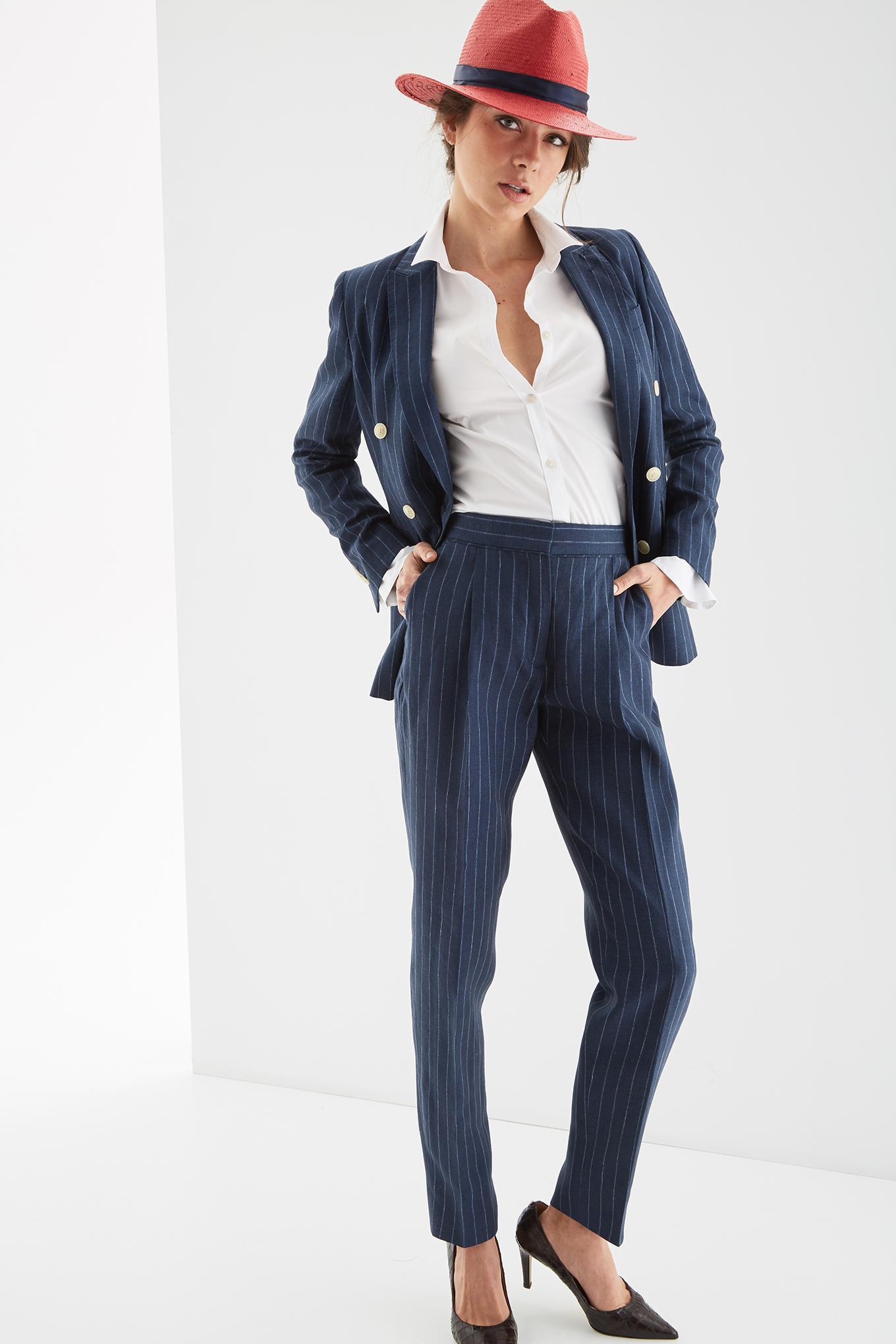 Blazer Stripes Classic Woman