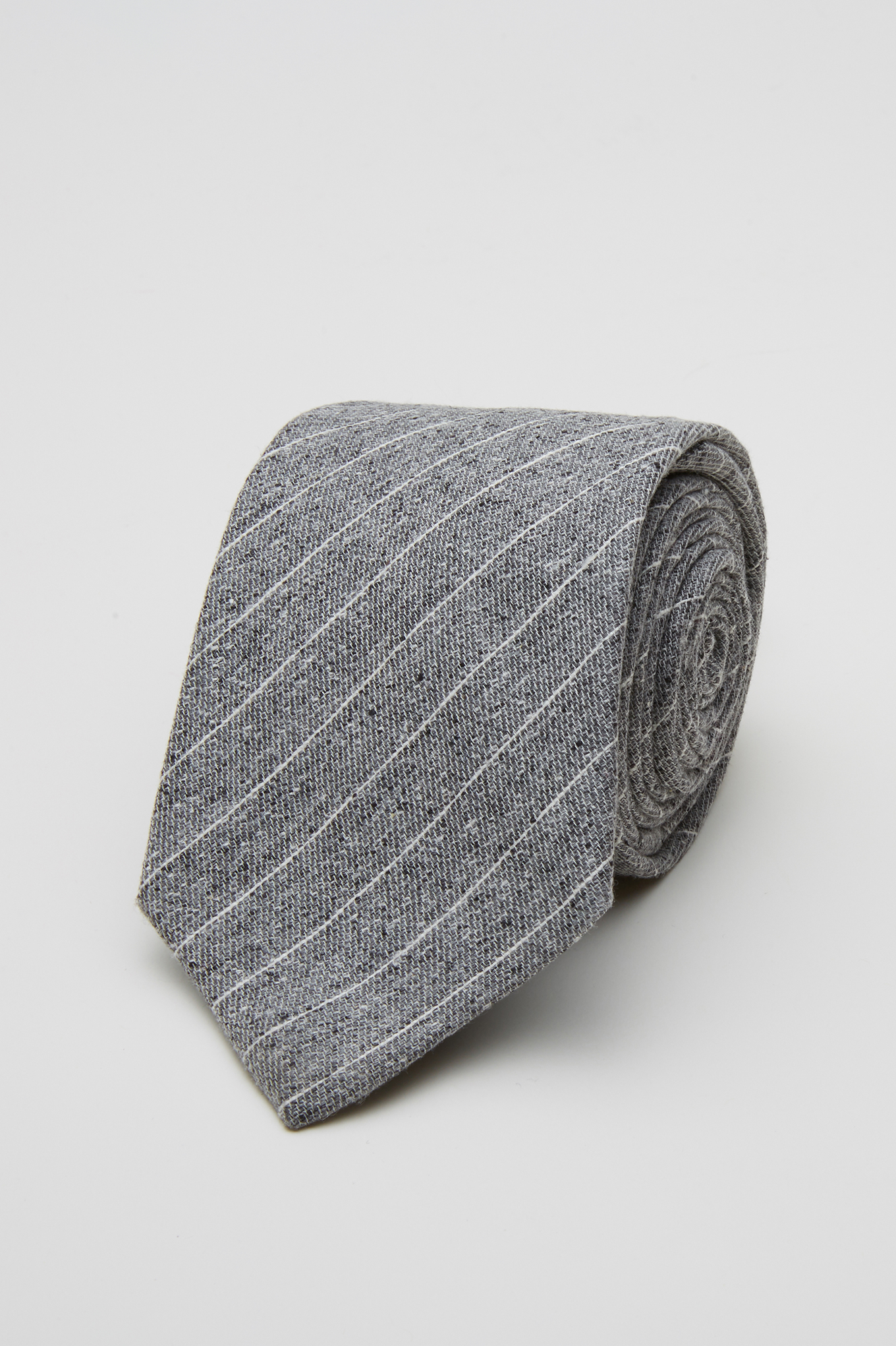 Tie Dark Grey Classic Man